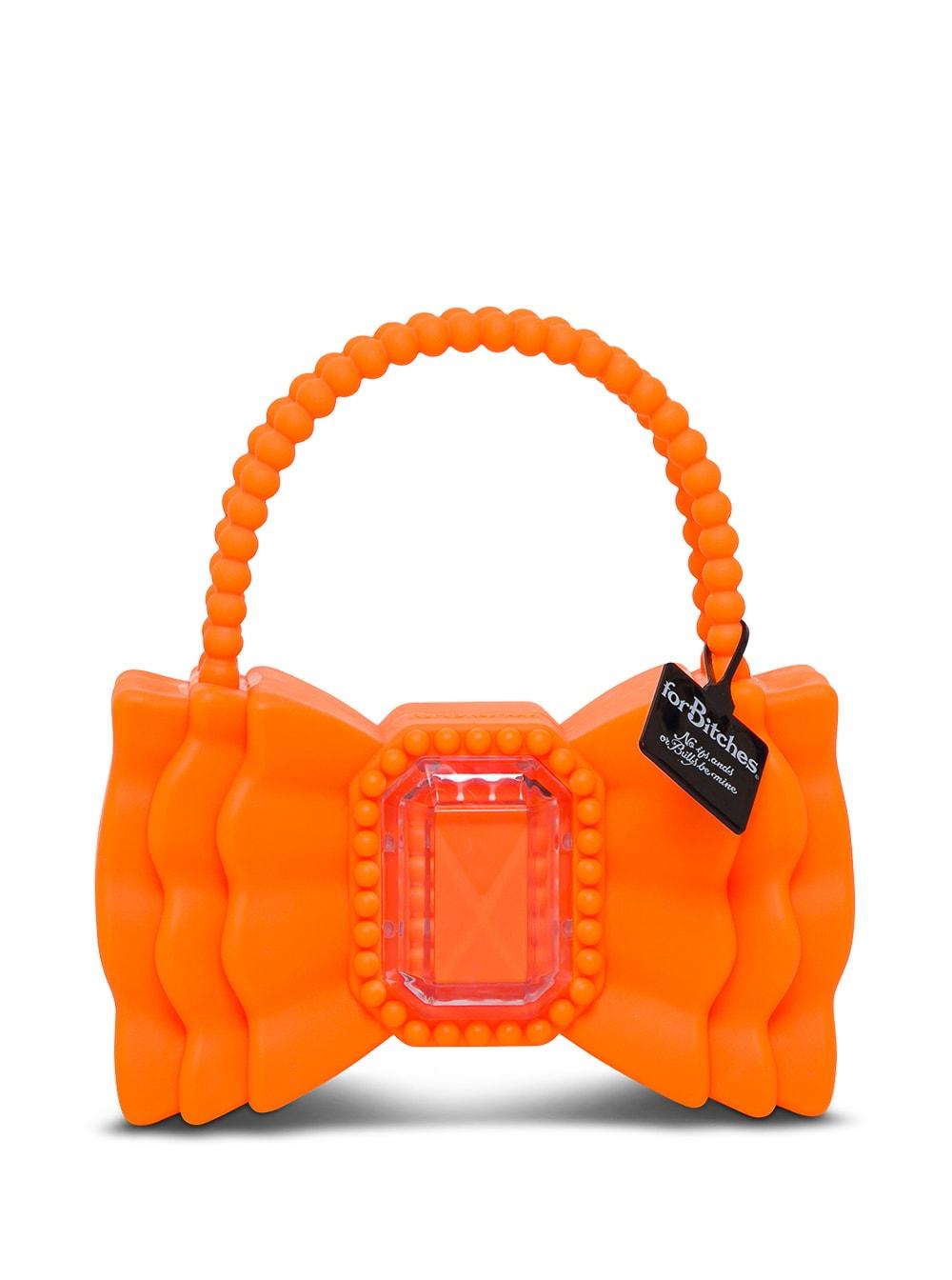 Peewee Bow Orange Handbag