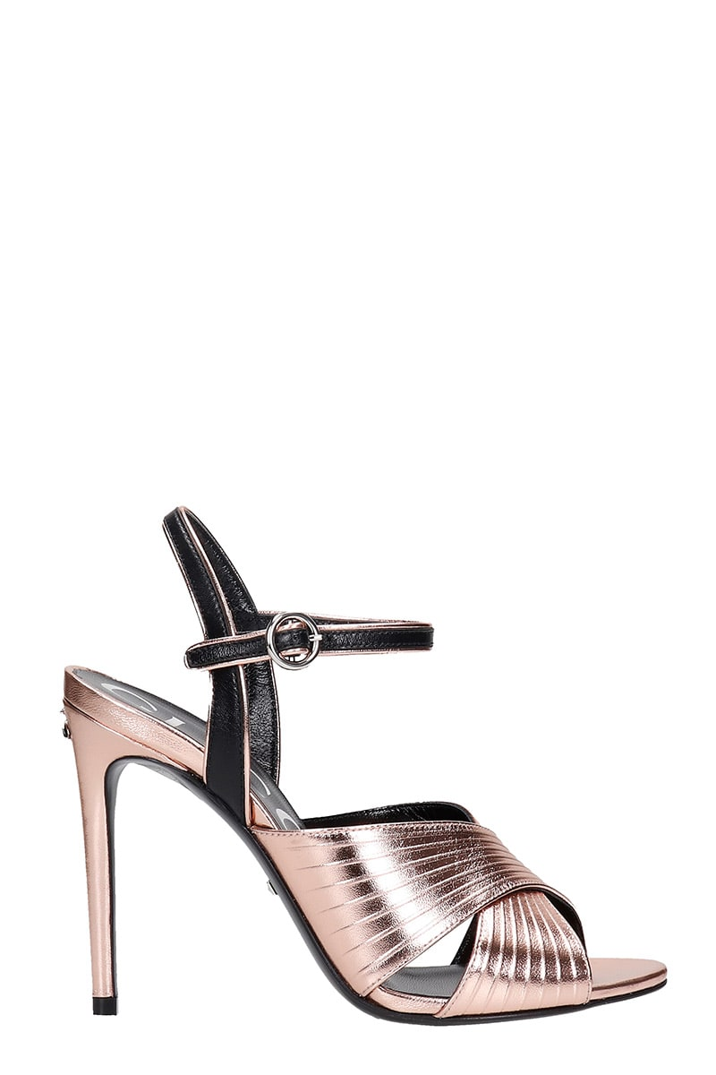 Buy Gucci Sandals In Rose-pink Leather online, shop Gucci shoes with free shipping