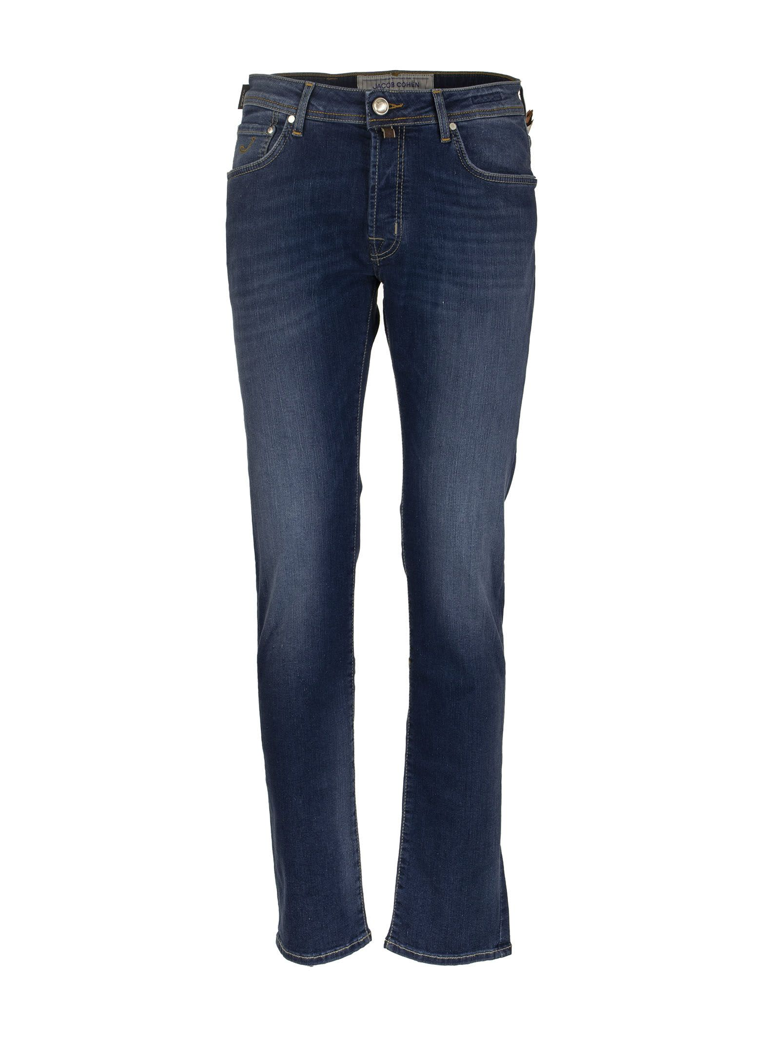 Jacob Cohen Jeans Five Pockets Trousers In Cotton