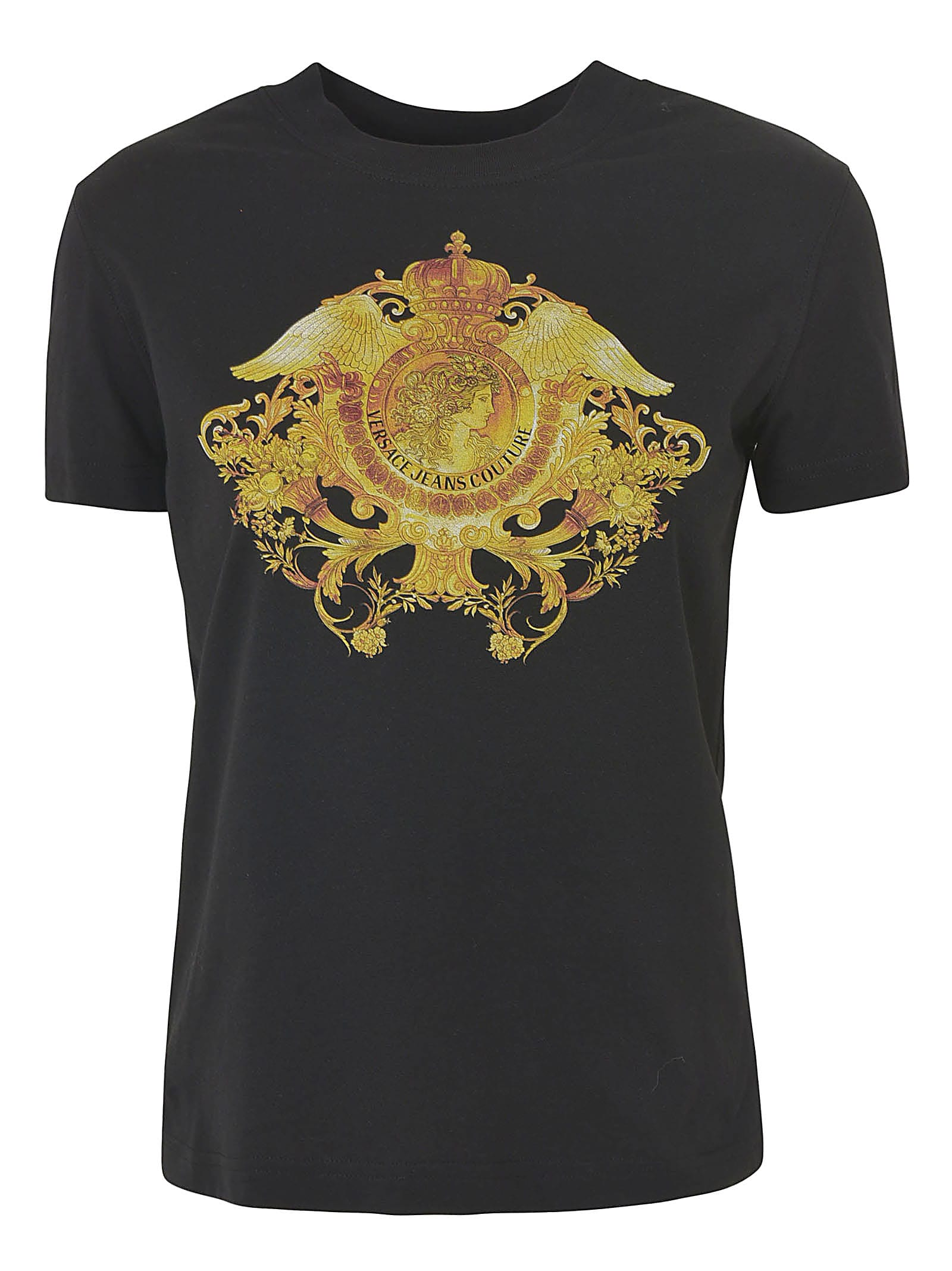 Versace Jeans Couture Cottons PRINTED SLIM T-SHIRT