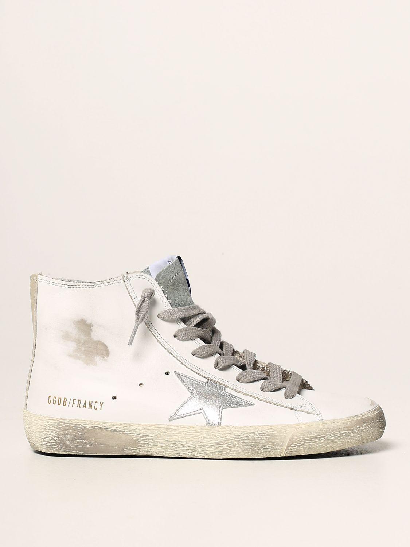 Golden Goose Sneakers Golden Goose Francy Classic Sneakers In Leather