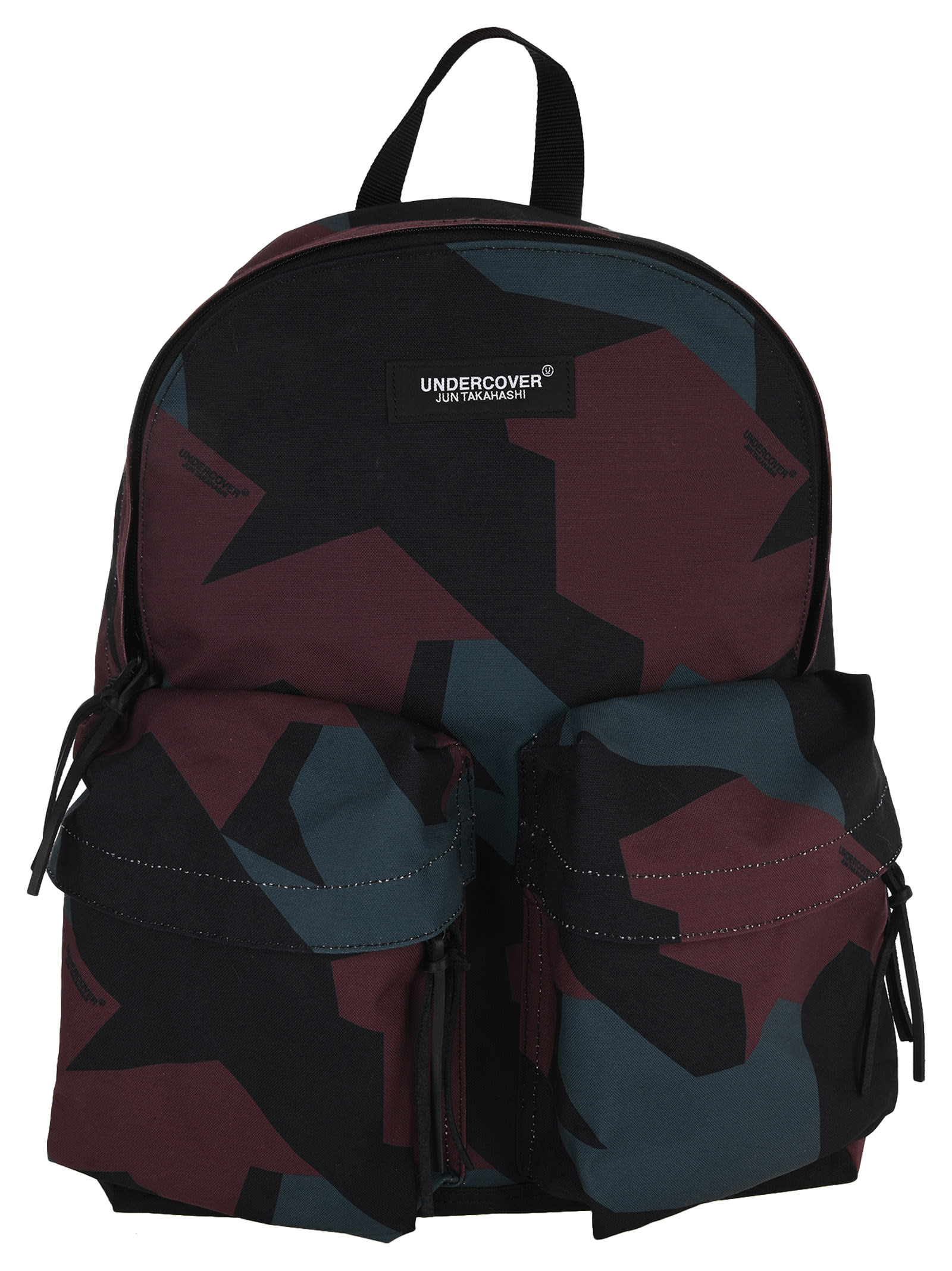 Undercover UNDERCOVER CAMOUFLAGE-PRINT CANVAS BACKPACK