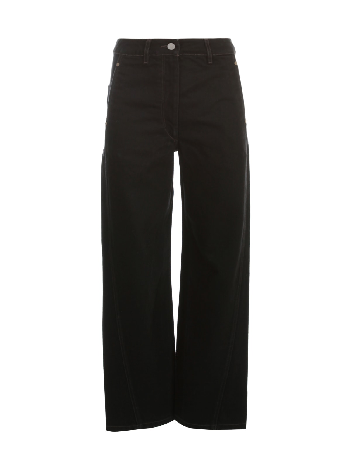 Lemaire Twisted Pants In Black