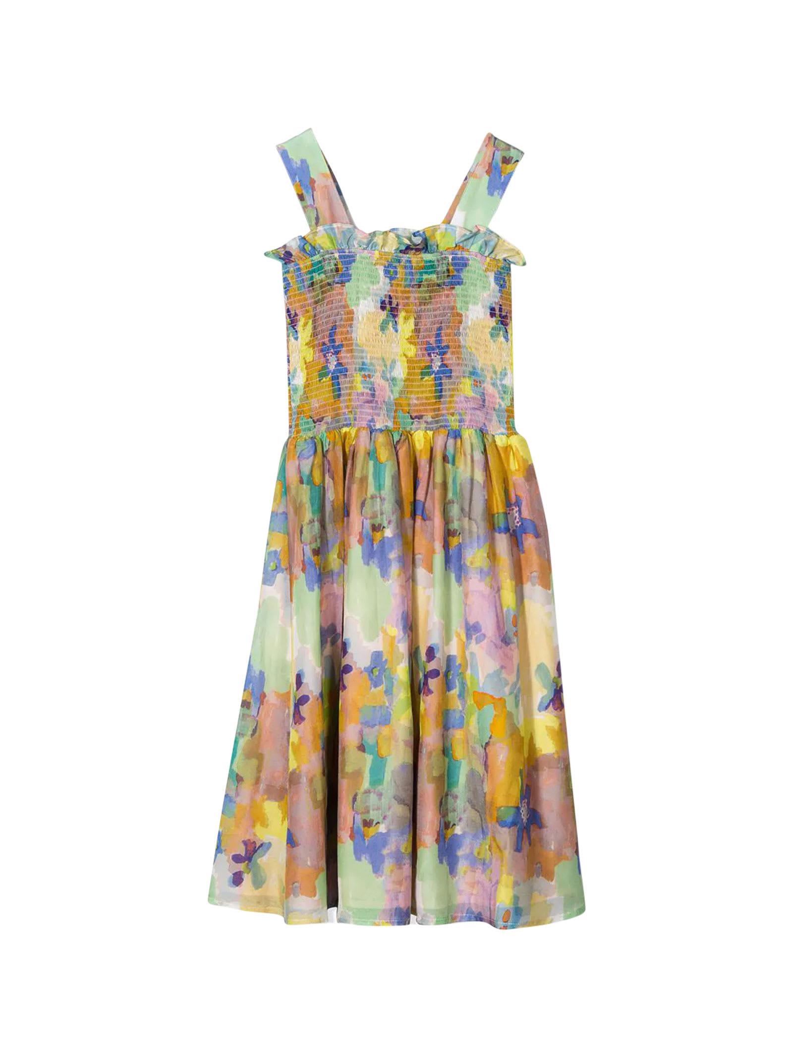 Buy Stella McCartney Kids Floral Dress Teen online, shop Stella McCartney Kids with free shipping