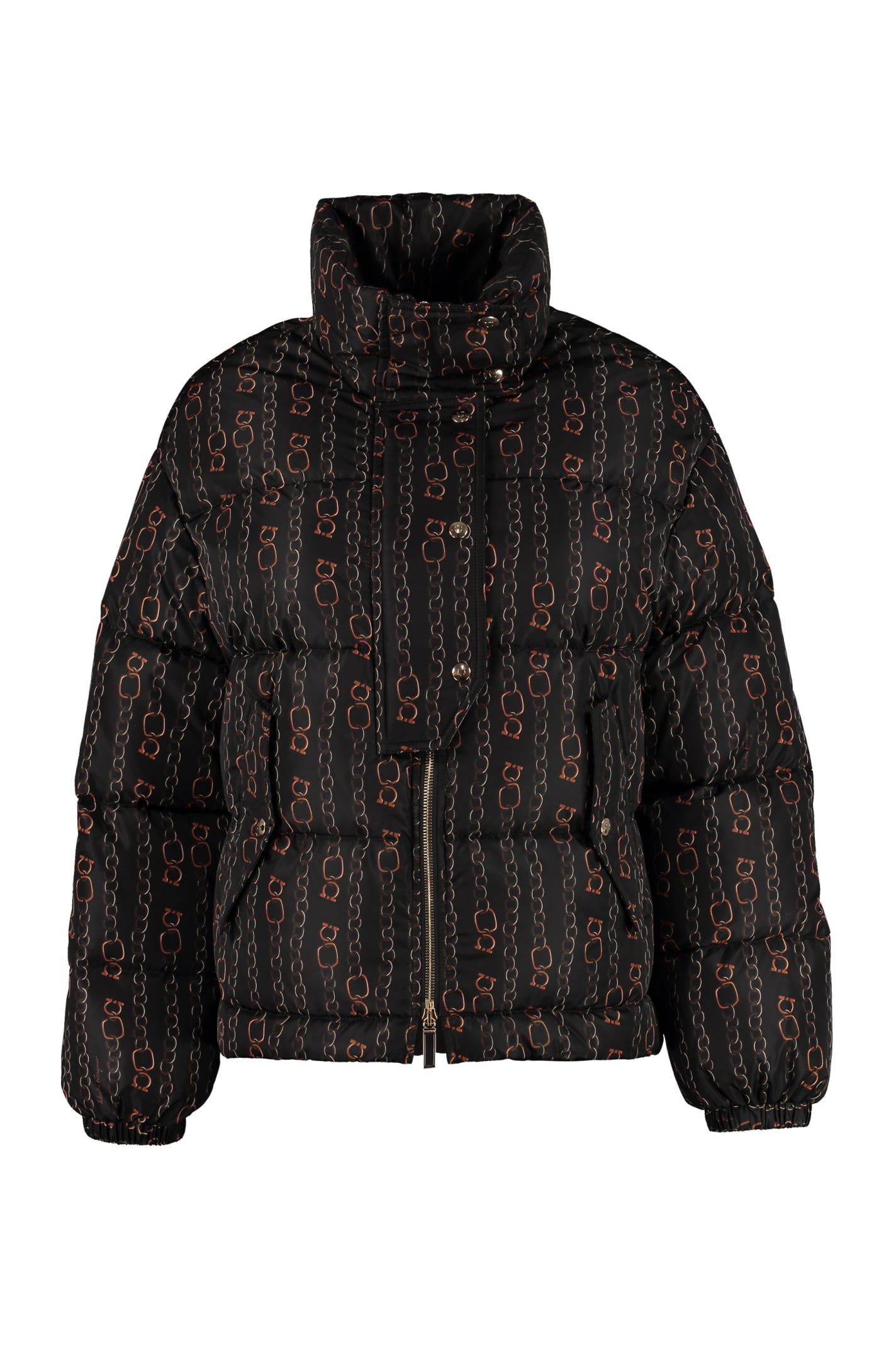 Salvatore Ferragamo Full Zip Padded Jacket