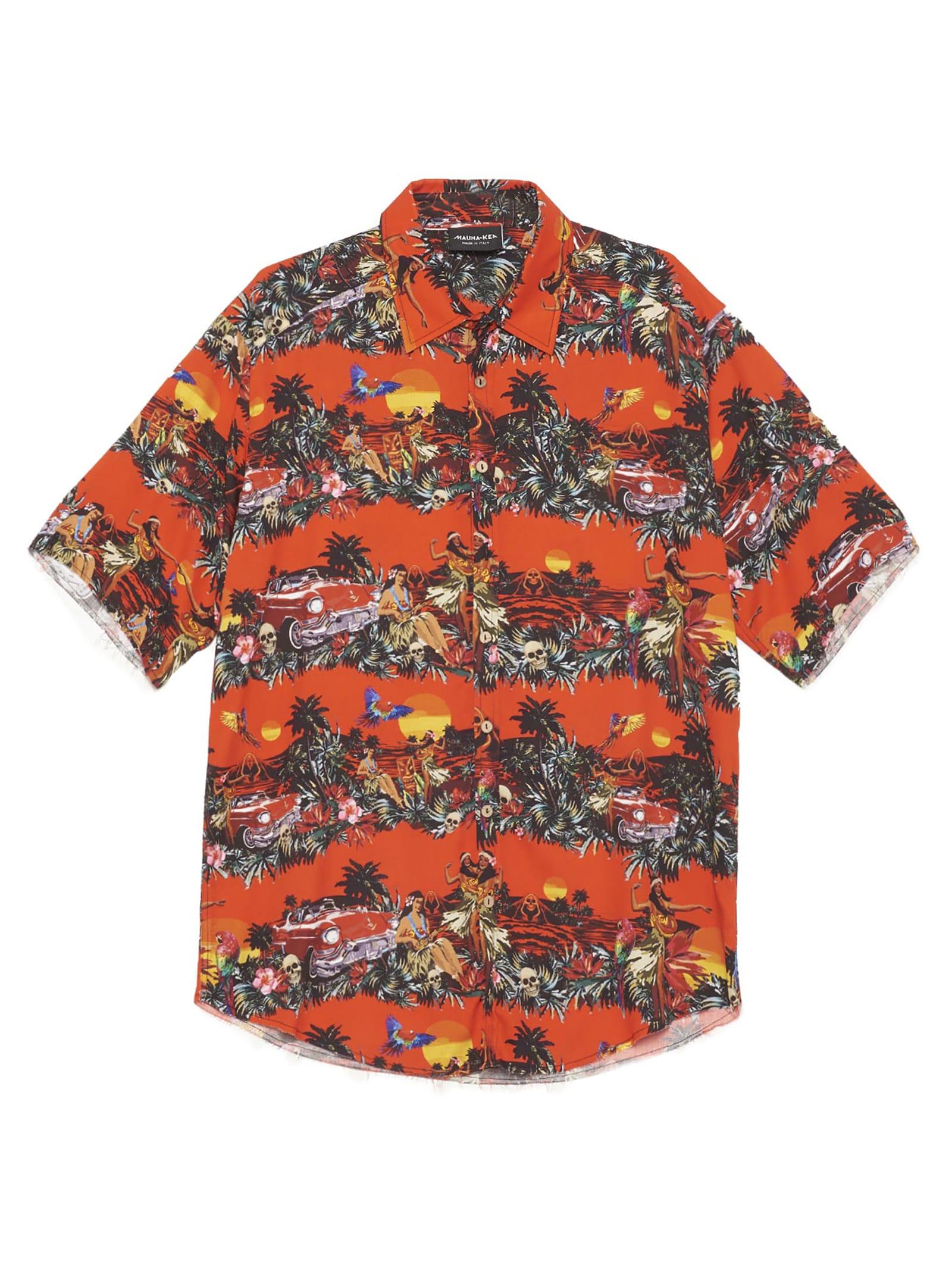Mauna Kea hawaian Tie-dye Shirt