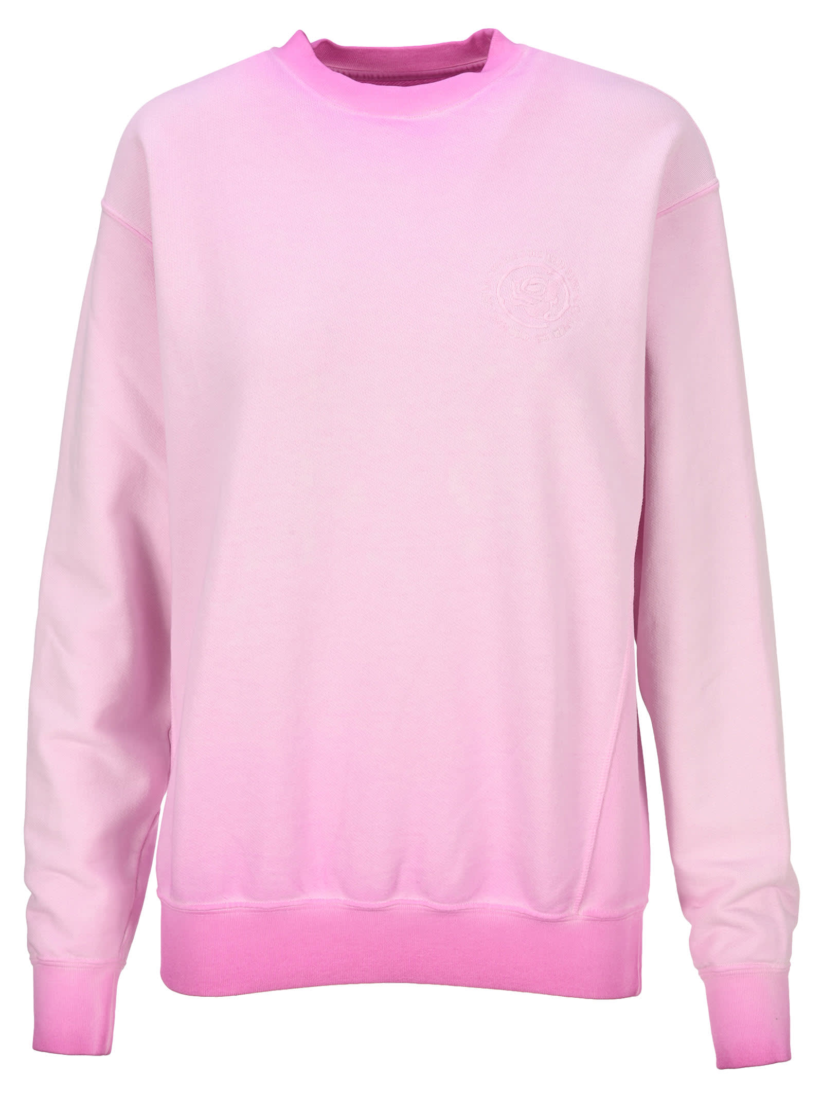 Opening Ceremony FADED PINK ROSE CREST SWEATSHIRT