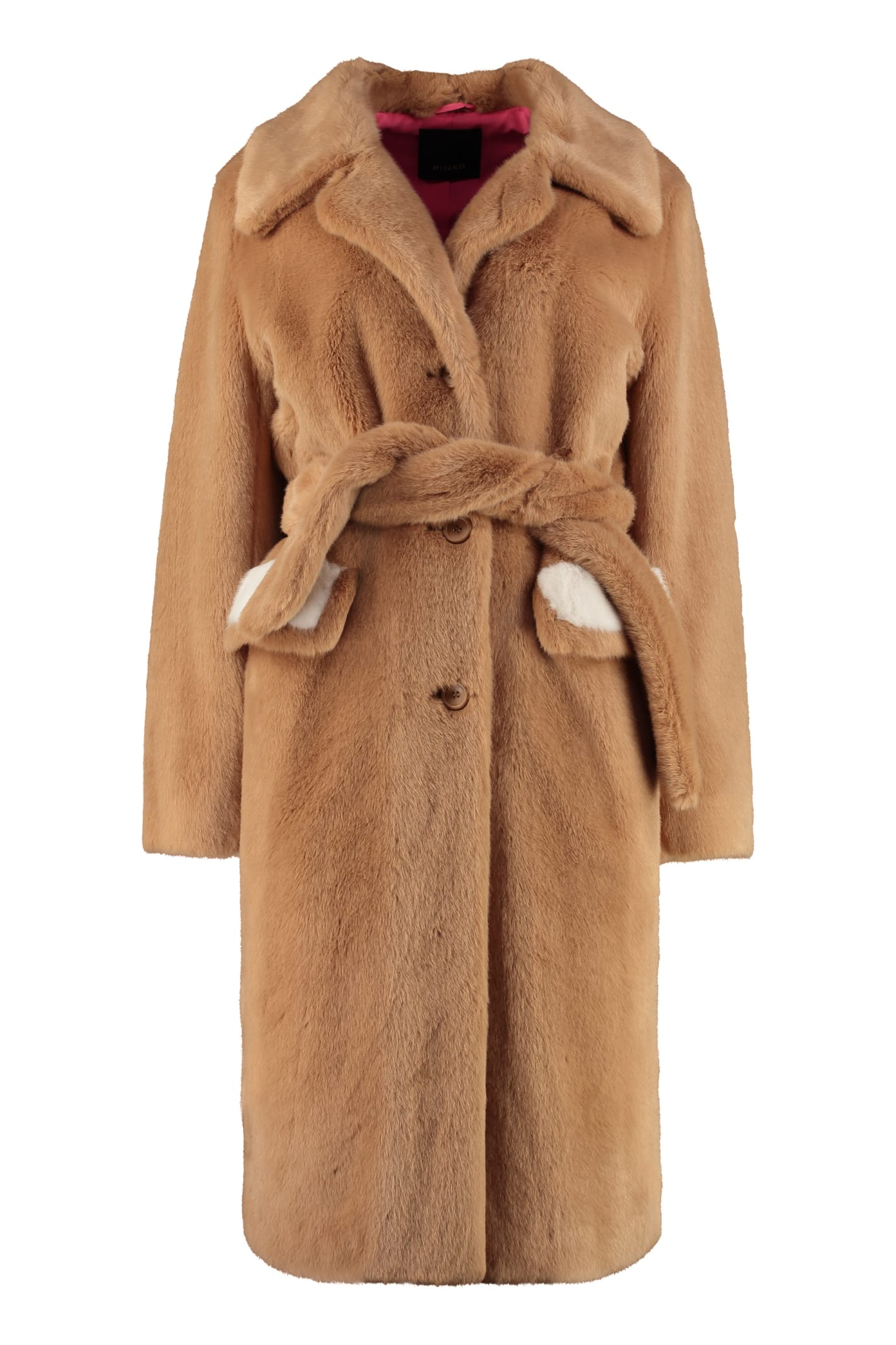 Pinko Oziare Faux Fur Coat