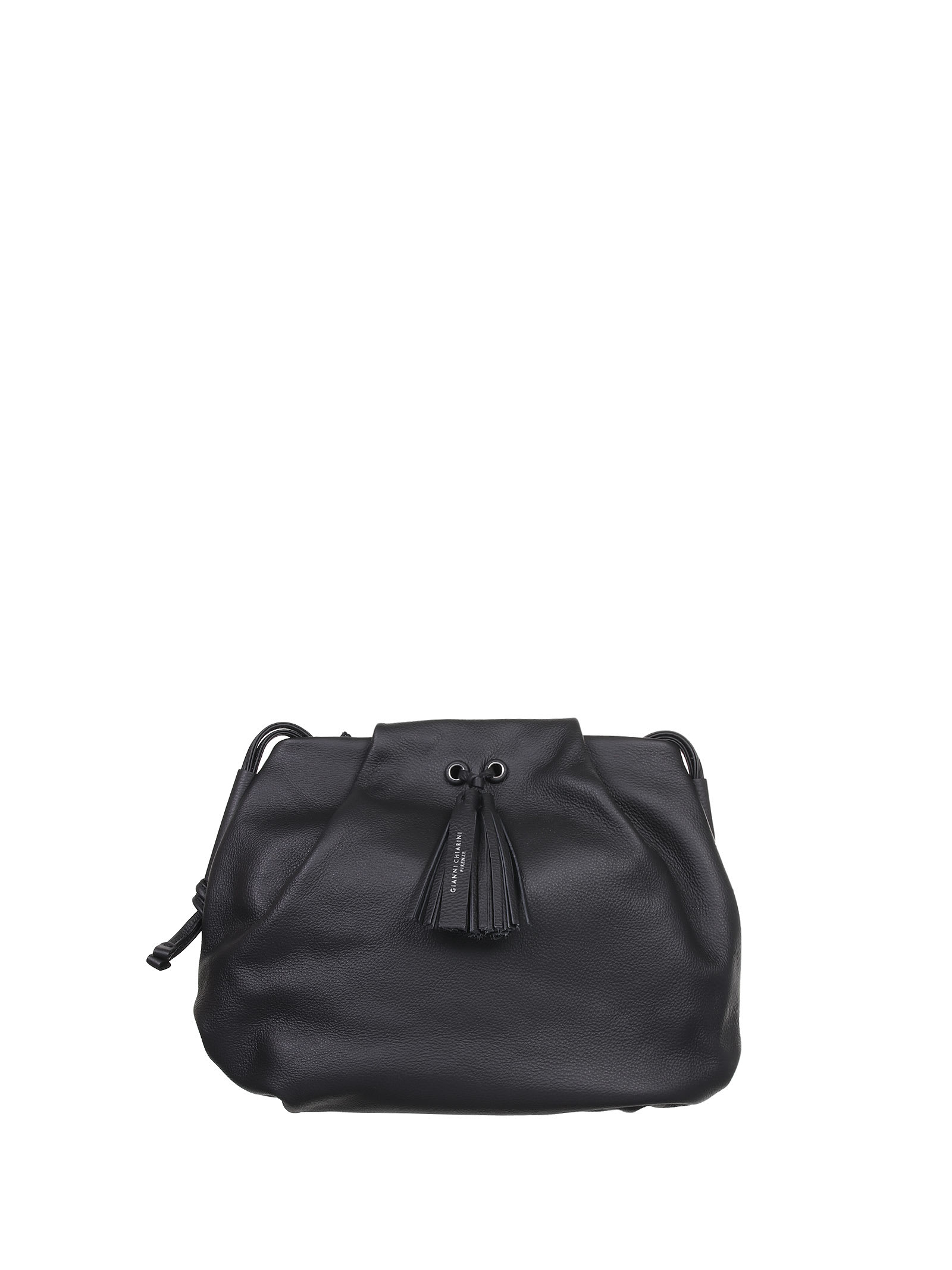 Flora Black Shoulder Bag