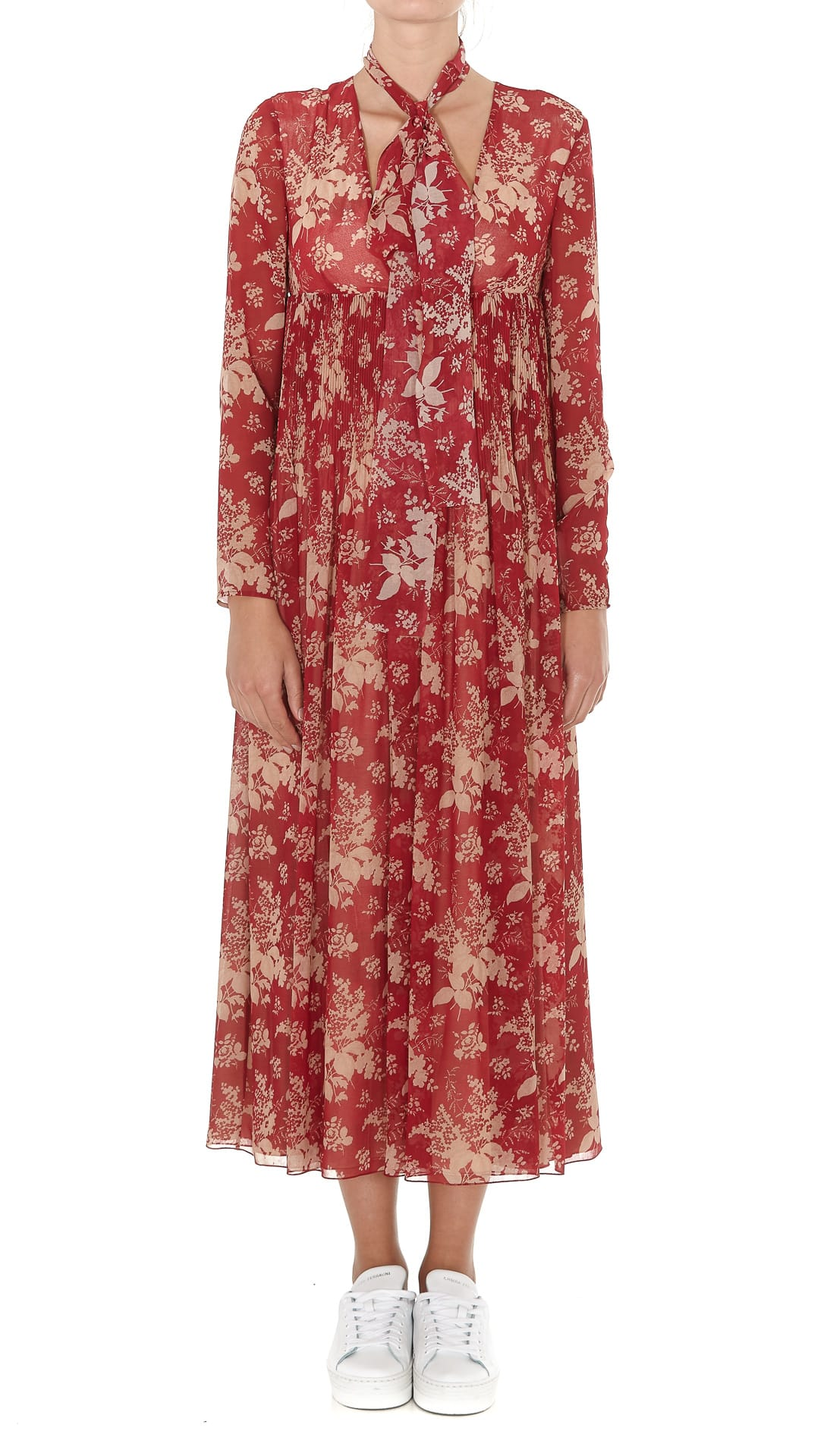 Red Valentino Midi Dress