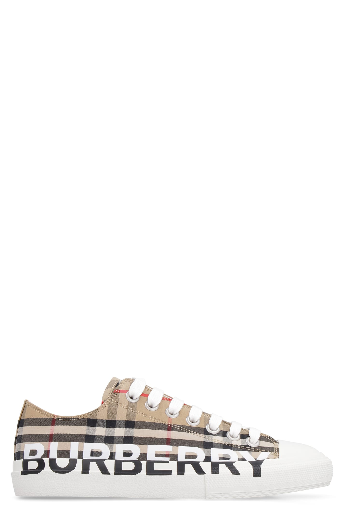 Burberry CHECKED MOTIF SNEAKERS