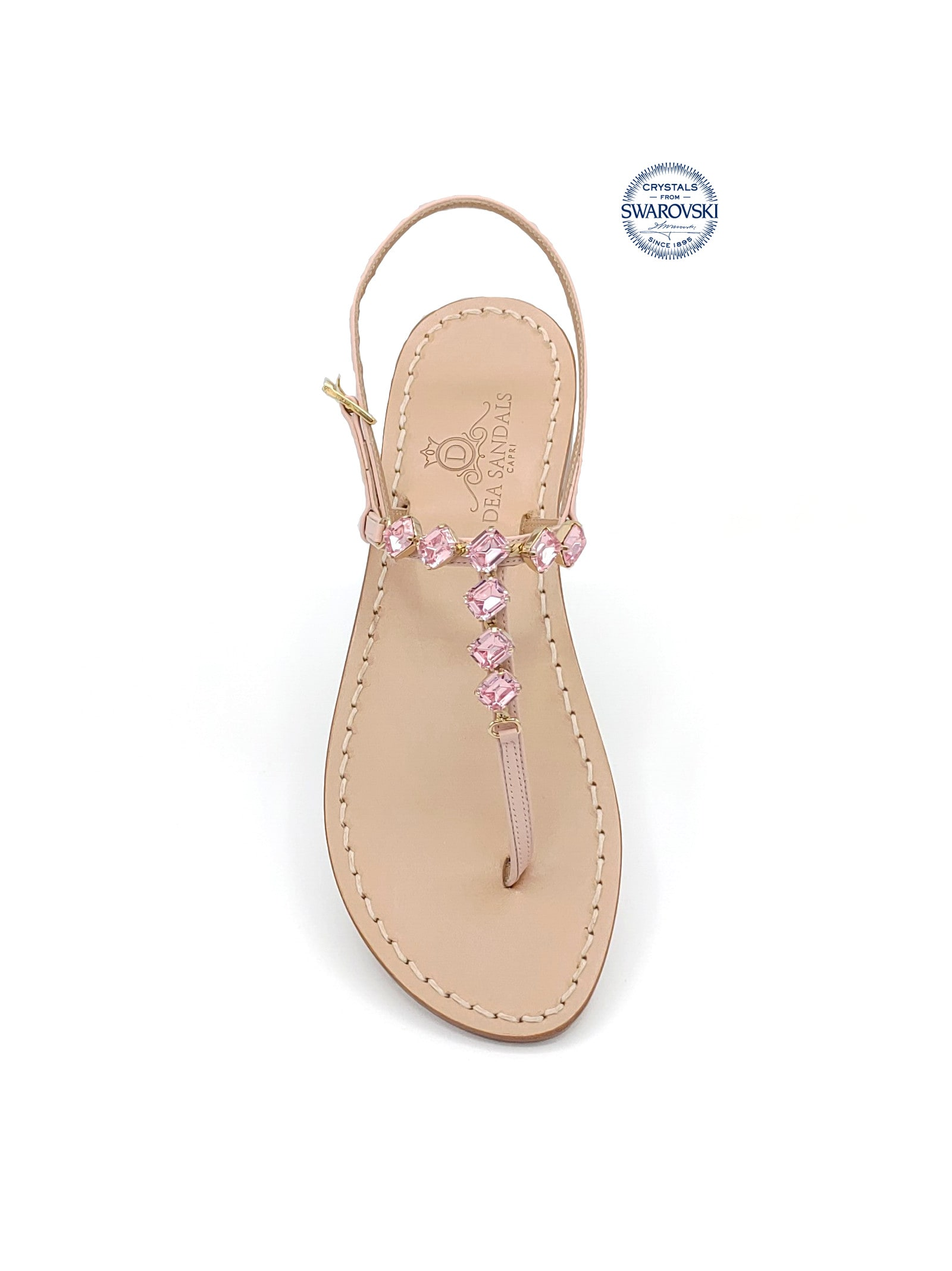 Olga Jewel Thong Sandals