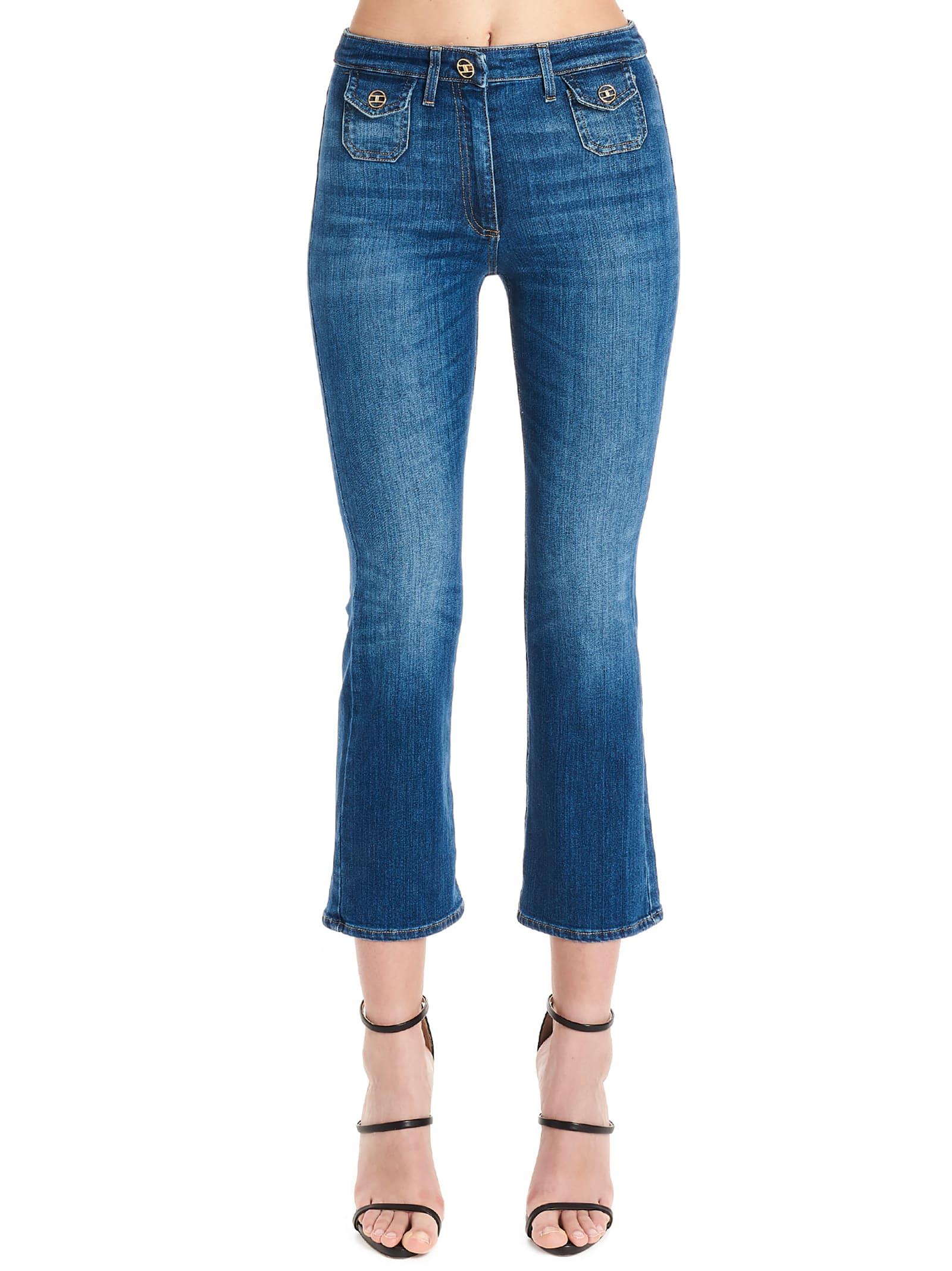 new styles 734ef a1a06 Elisabetta Franchi Celyn B. 'blue Vintage' Jeans