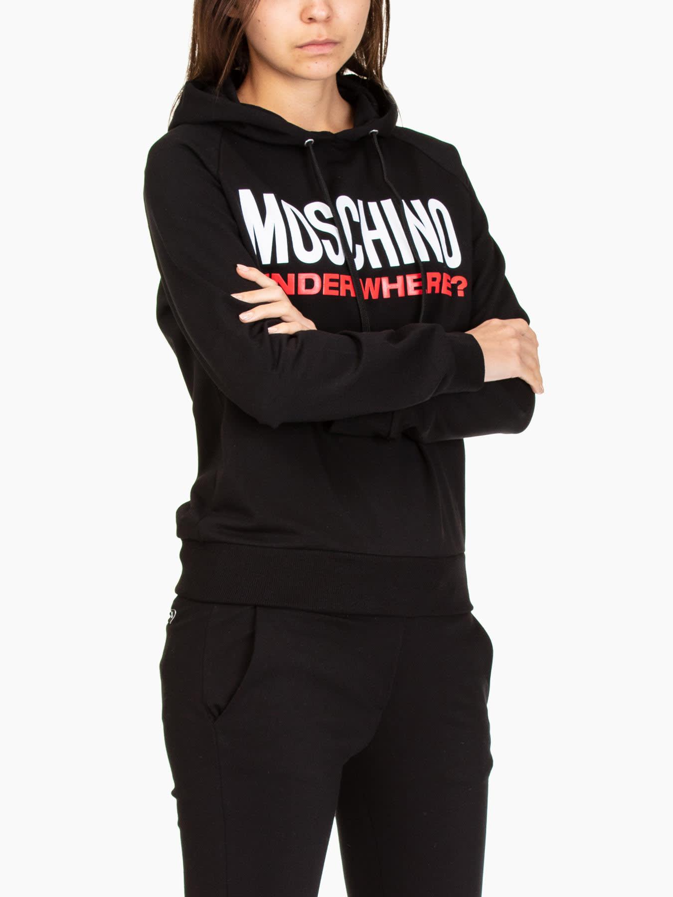 Love Moschino T-shirts CREWNECK SWEATSHIRTS