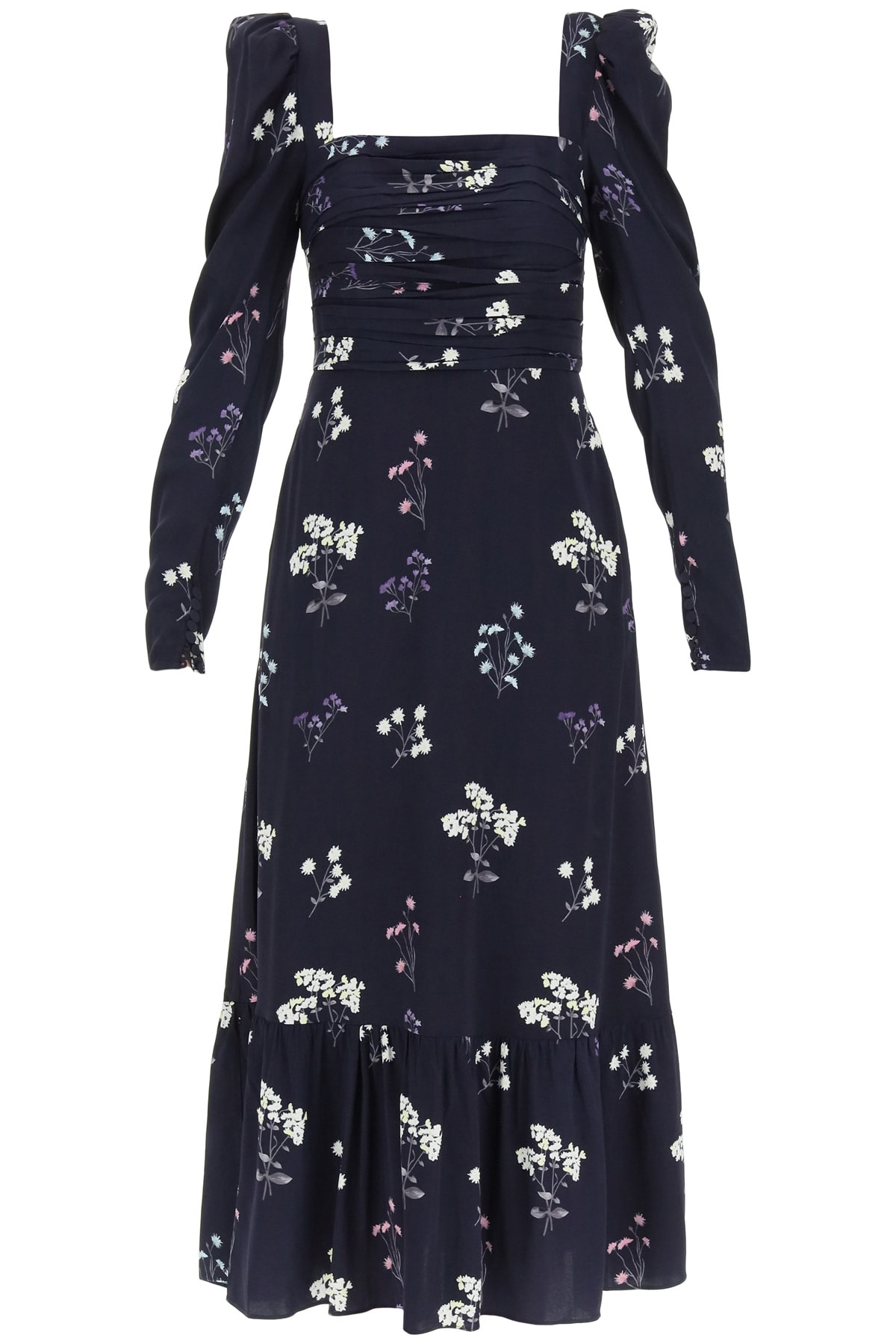 Buy self-portrait Vintage Midi Dress online, shop self-portrait with free shipping