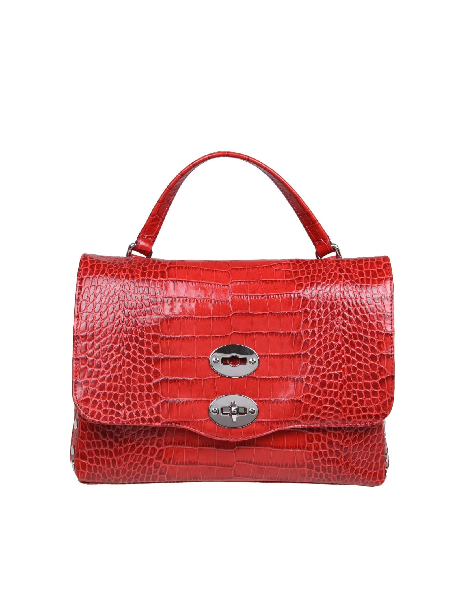 Zanellato Postina S Portrait In Red Leather