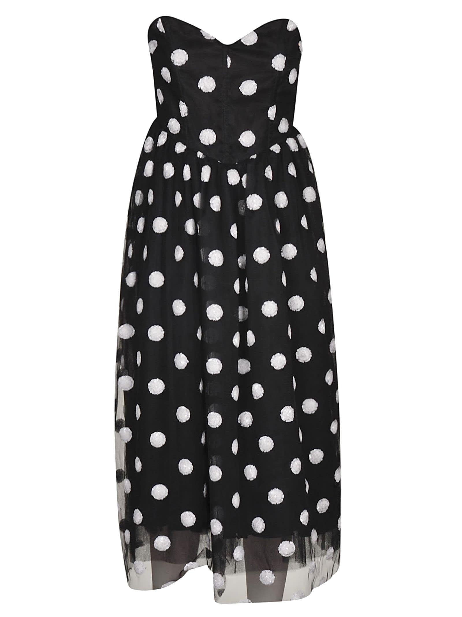 Buy Giuseppe di Morabito Polka-dot Lace Dress online, shop Giuseppe di Morabito with free shipping