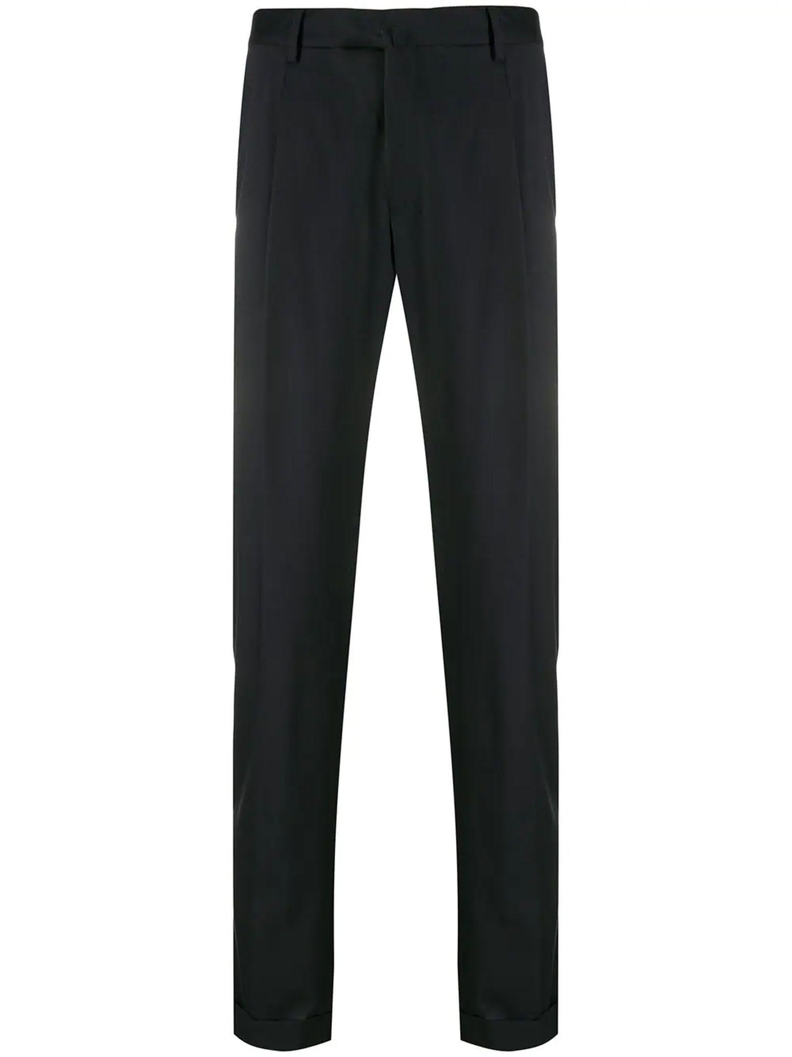1949 Dark Blue Virgin Wool Trousers