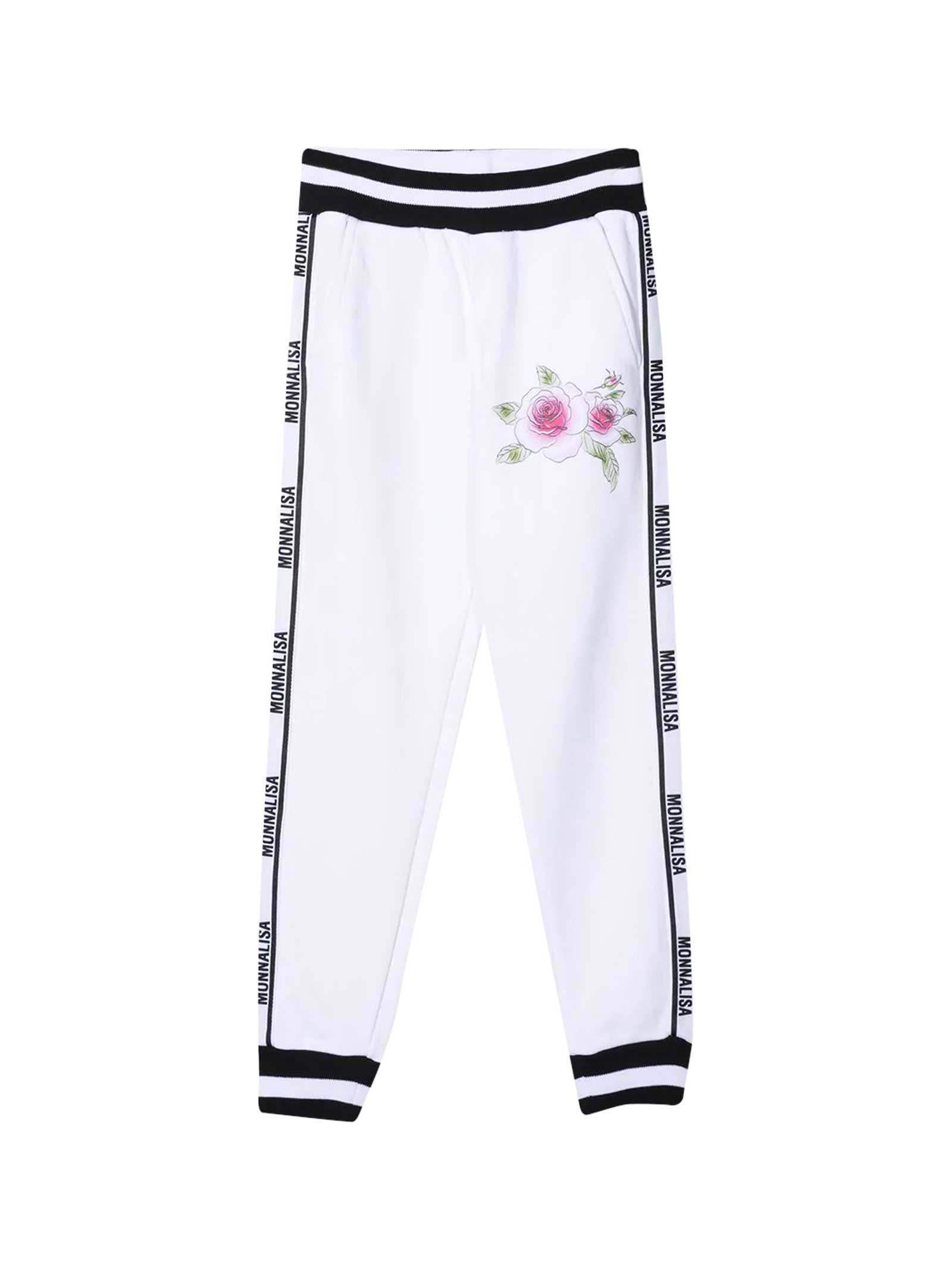 Sports Trousers With Logo Band