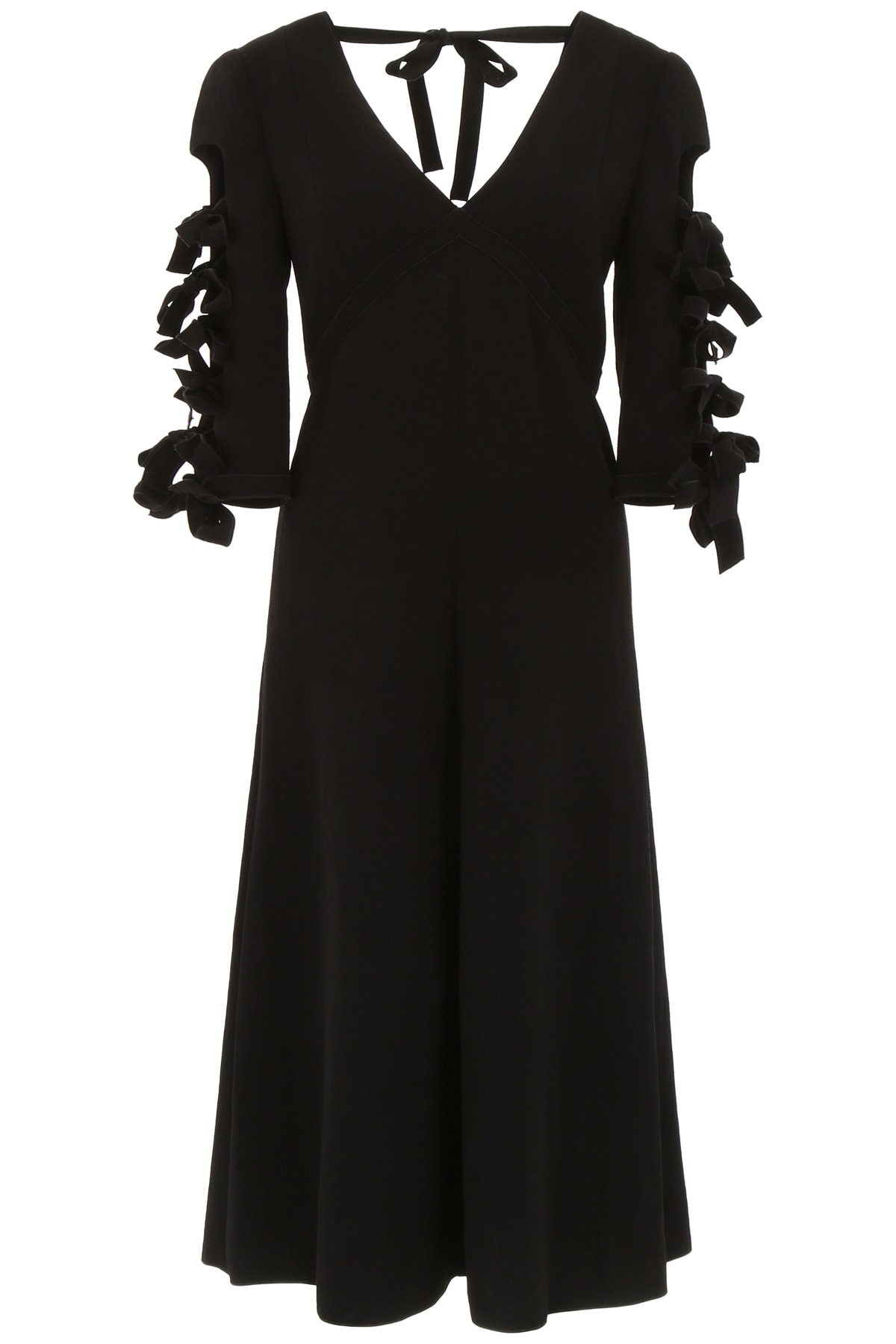 Bottega Veneta Dress With Bows On Sleeves