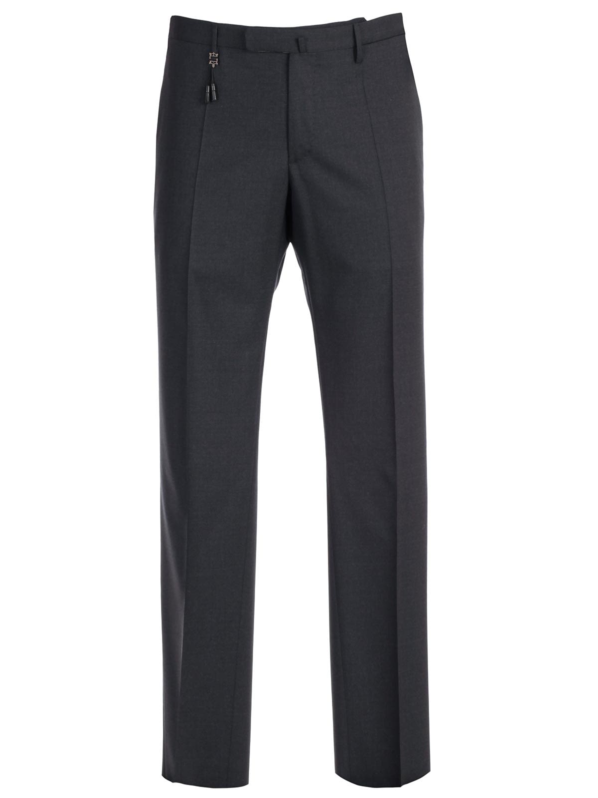 Incotex Fringed Detail Trousers