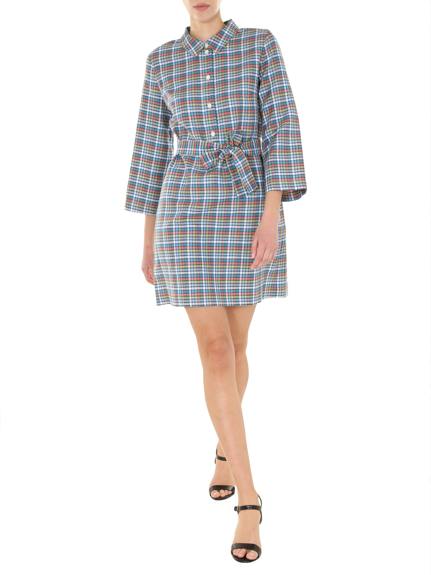 Buy A.P.C. Checked Dress online, shop A.P.C. with free shipping