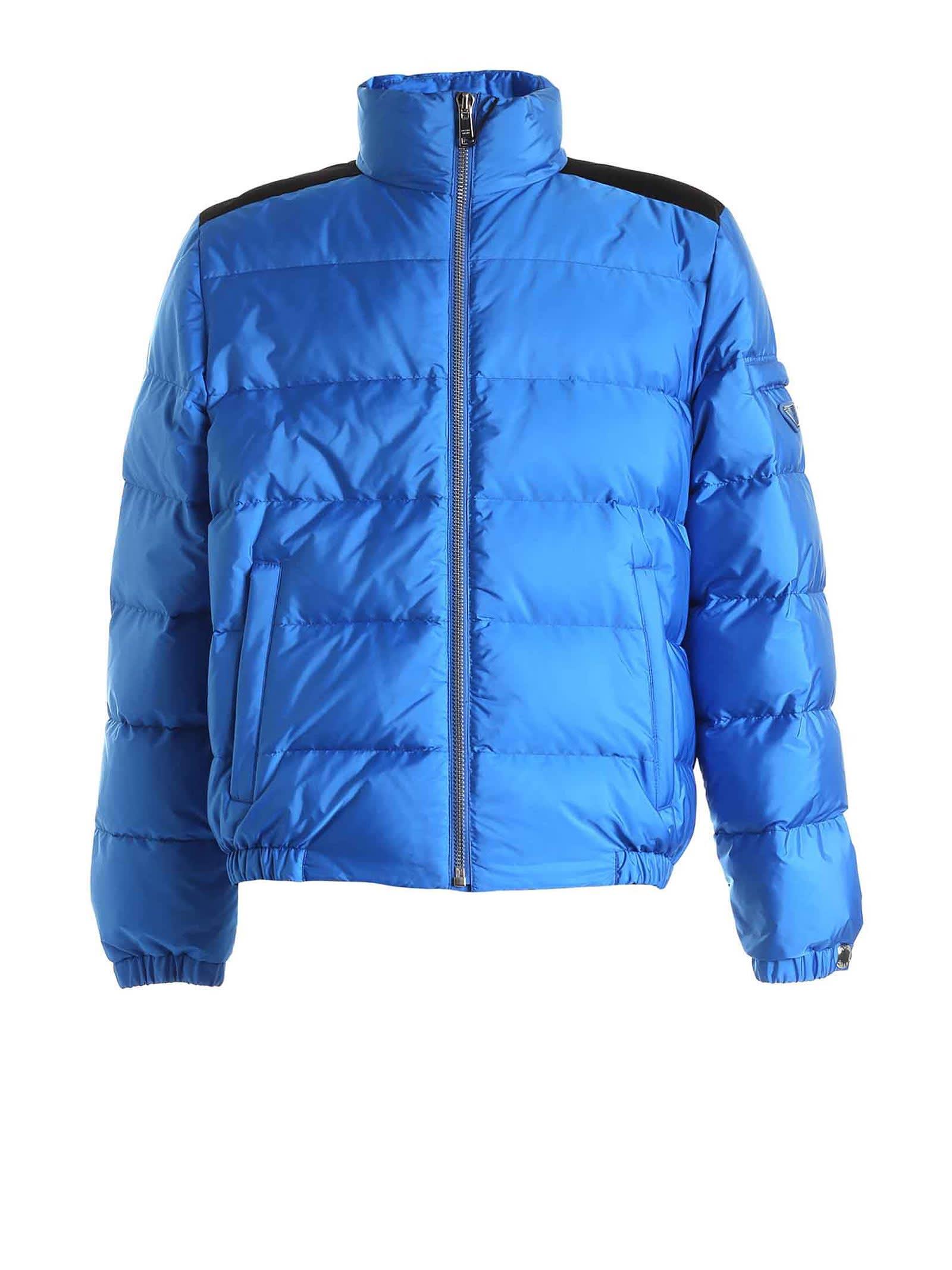 Prada Prada Logo Embellished Padded Jacket