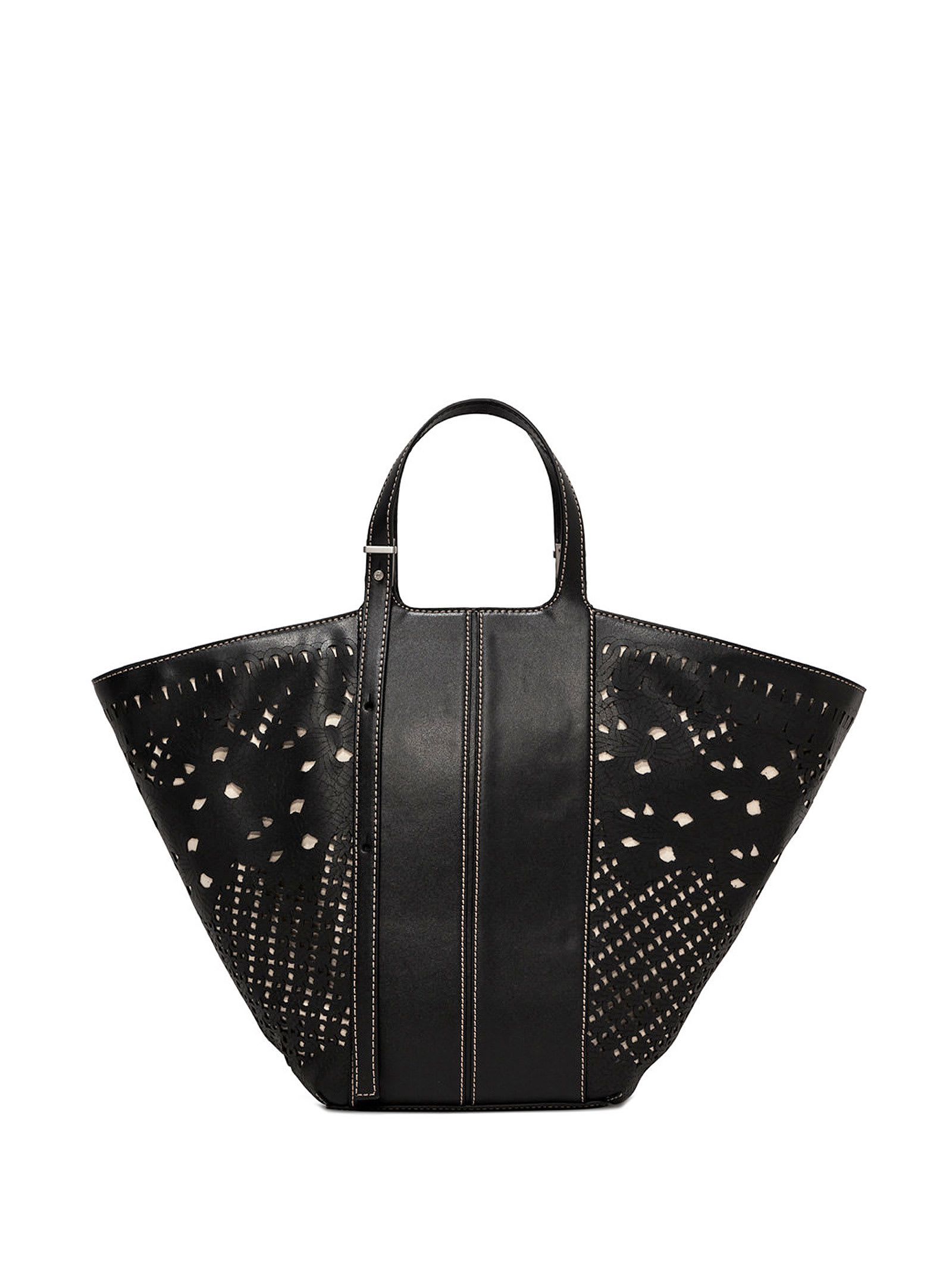 Diletta Black Shopping Bag