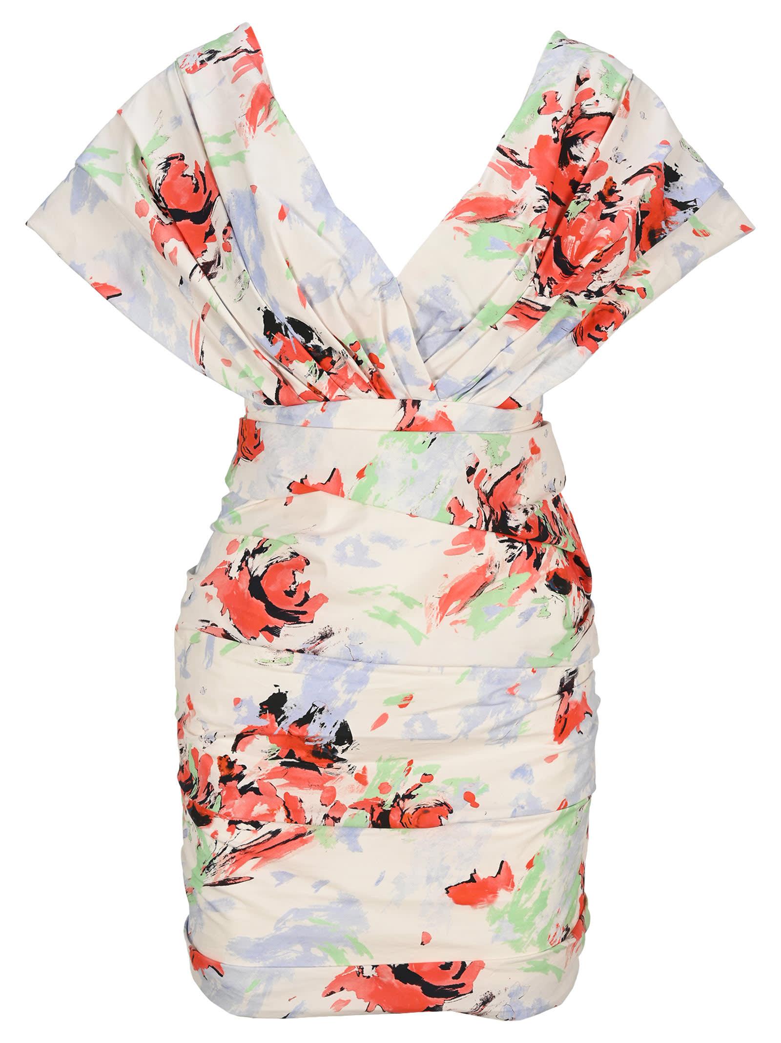 Buy Philosophy di Lorenzo Serafini Philosophy Draped Mini Dress online, shop Philosophy di Lorenzo Serafini with free shipping