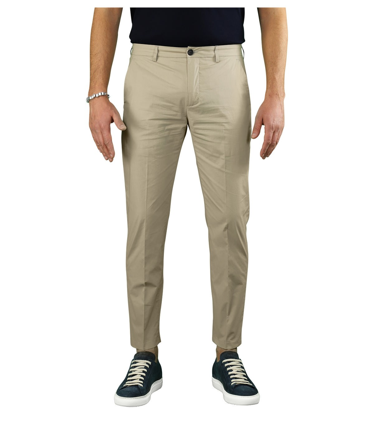Department 5 Cottons PRINCE BEIGE CHINO TROUSERS