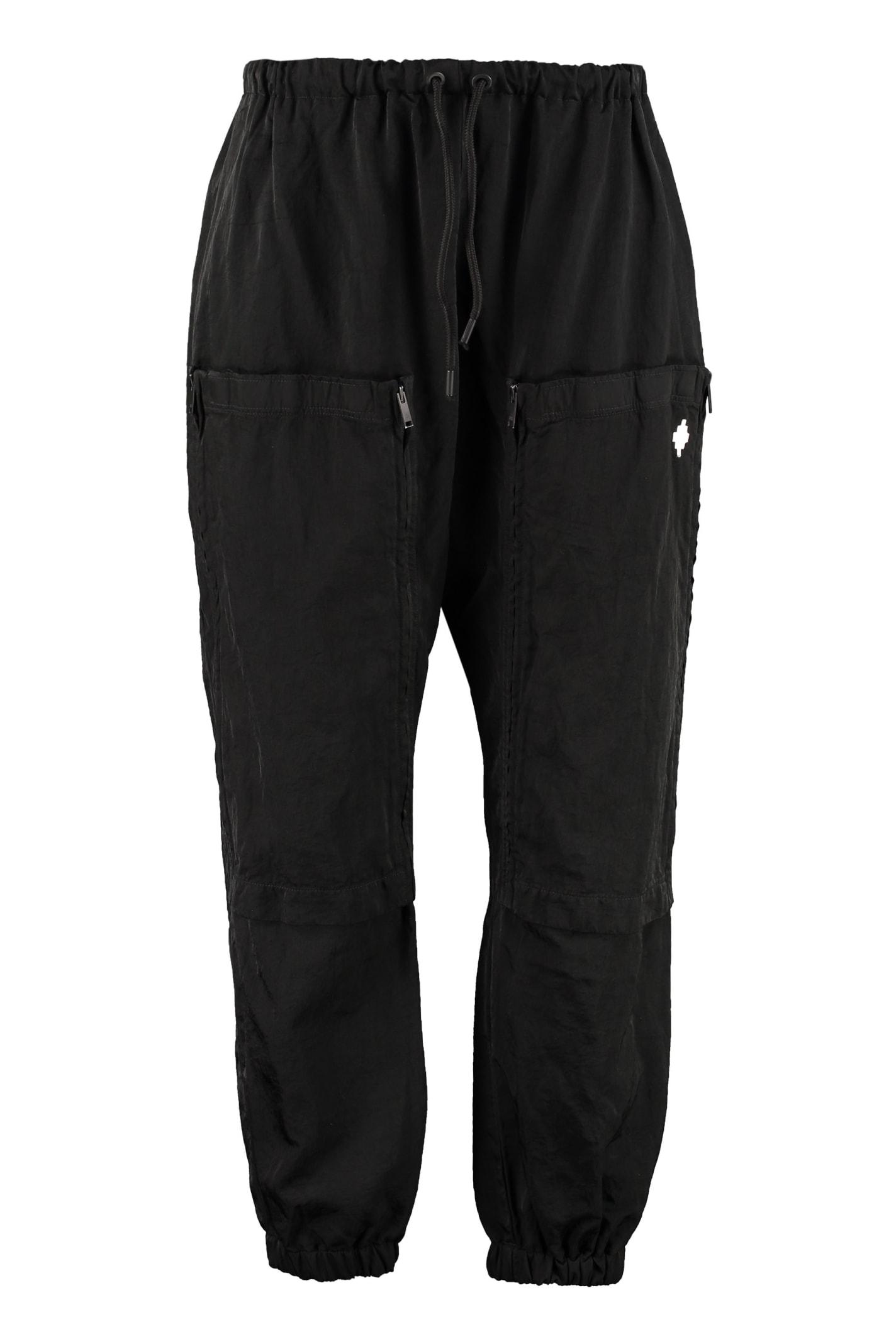 Marcelo Burlon Nylon Cargo Pants