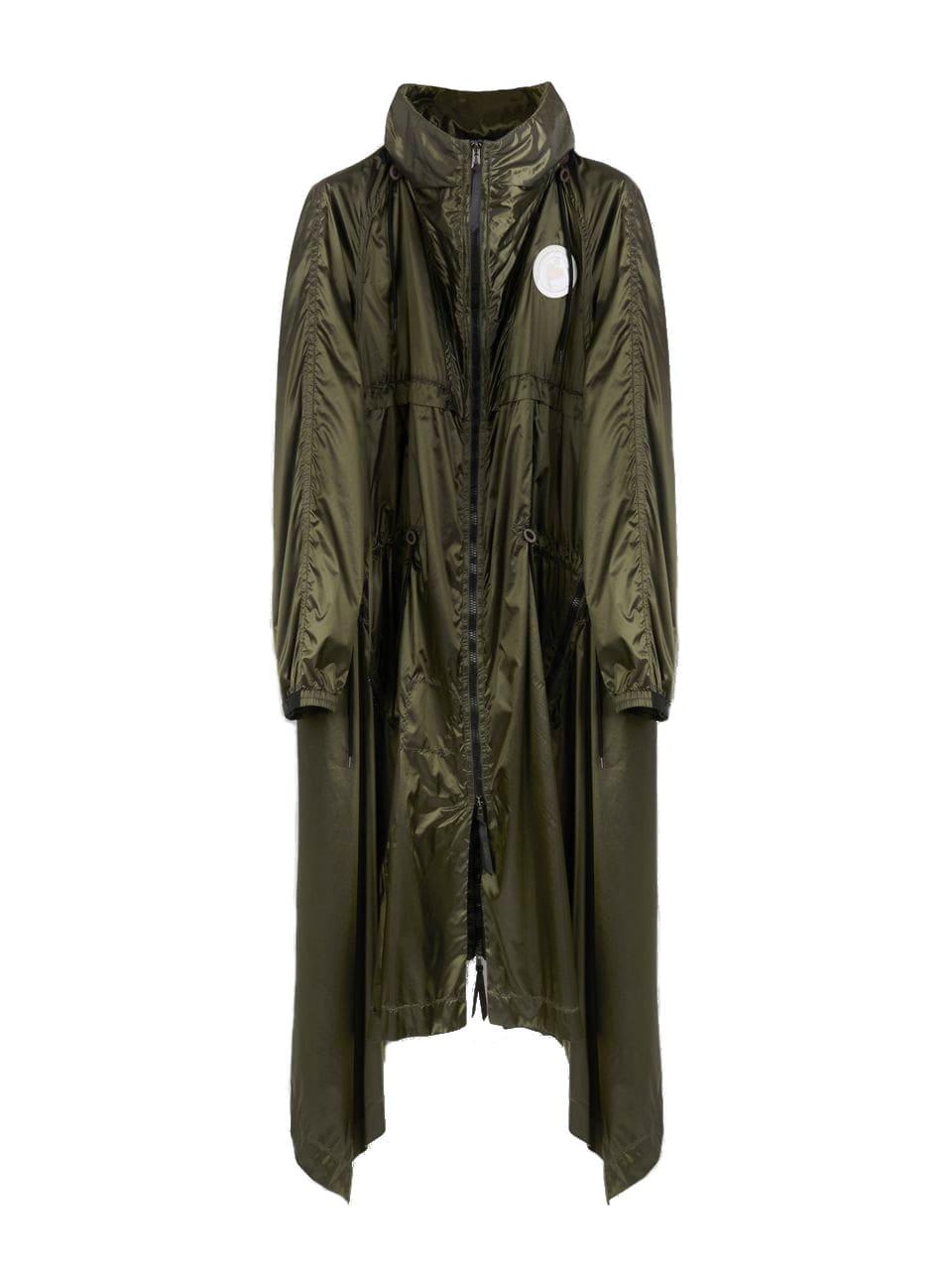 Chloé Polyamide Coat Zip 2 Pockets