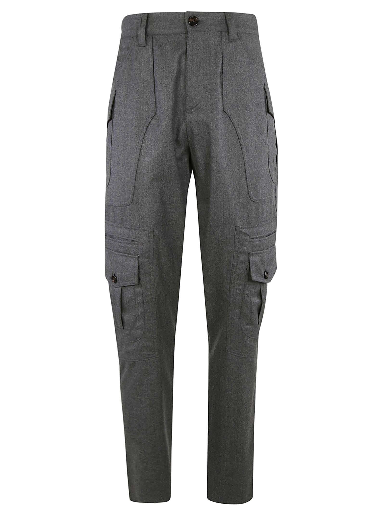 Brunello Cucinelli Regular Fit Cargo Trousers