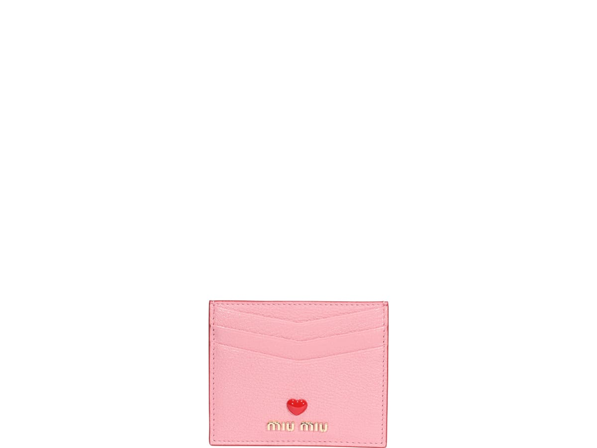 Miu Miu Cardholders MADRAS LOVE CARDS HOLDER