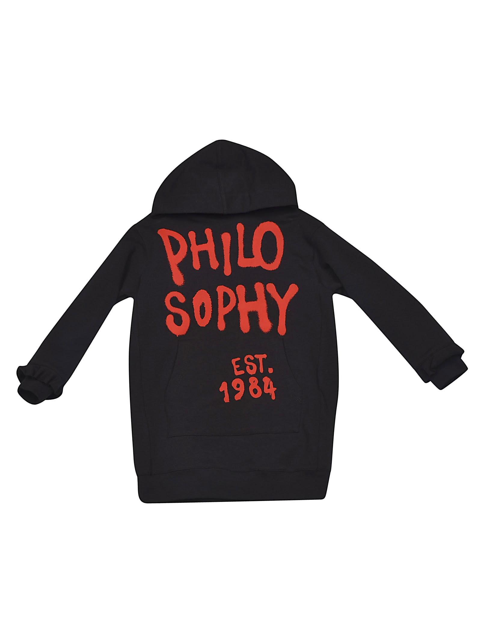 Philosophy di Lorenzo Serafini Kids Logo Pint Hoodie Dress