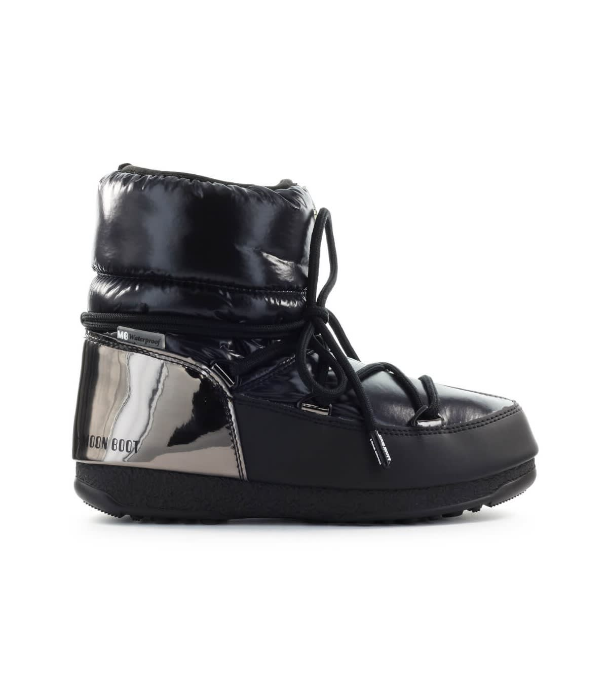 Moon Boot Leathers LOW ASPEN WP BLACK SNOW BOOT