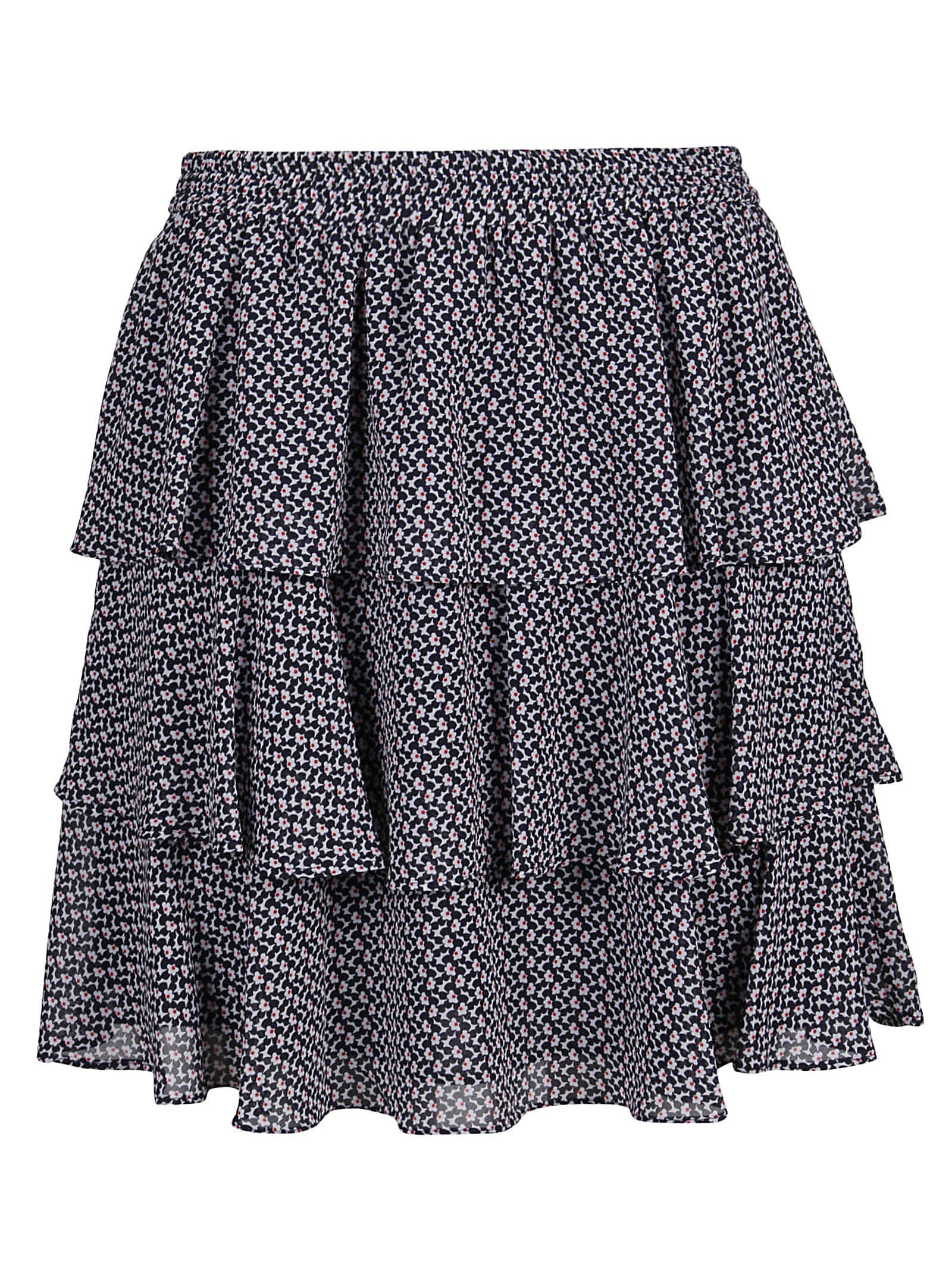 Michael Kors Skirt Mini Floreal