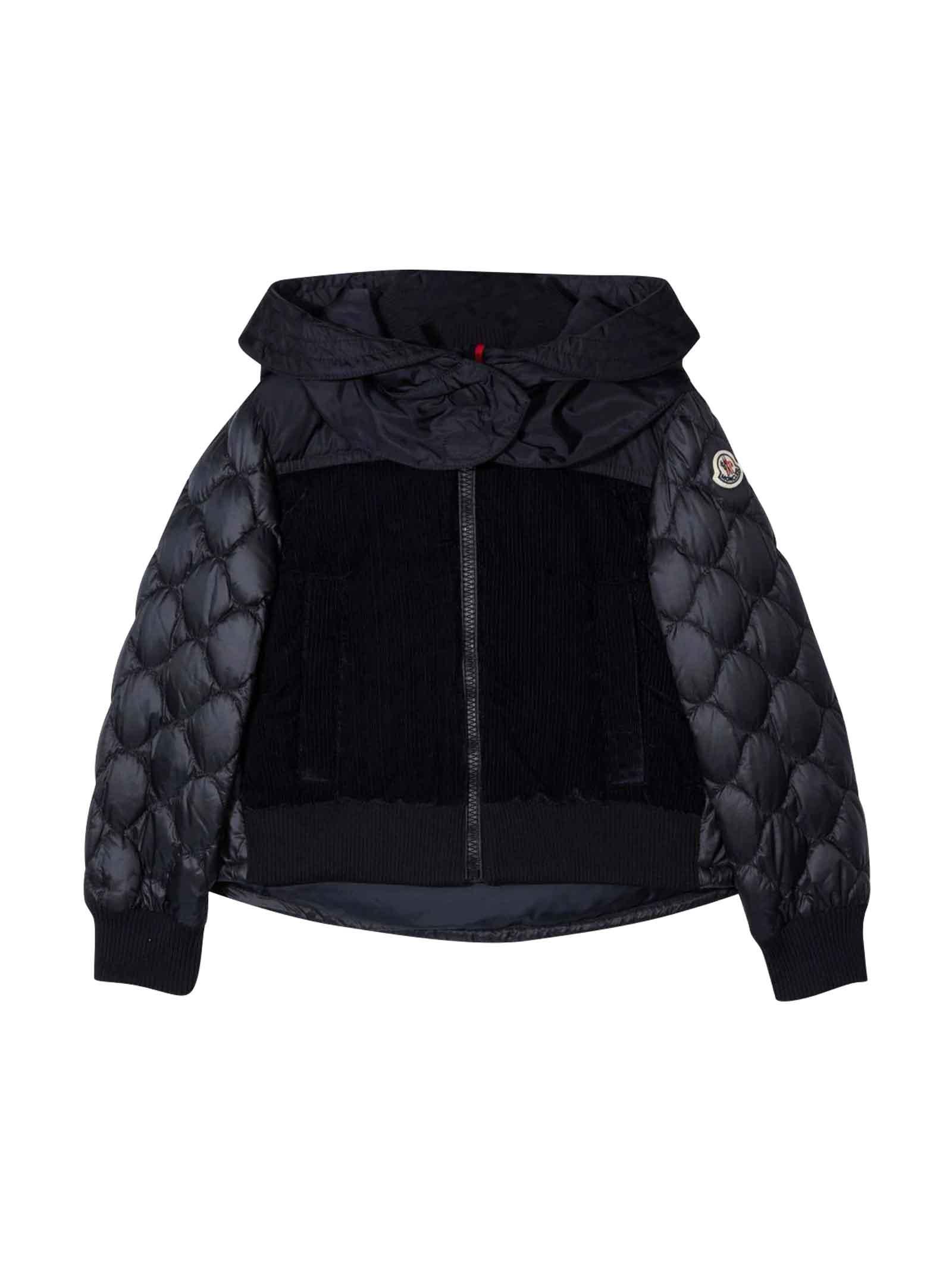Moncler Black Down Jacket