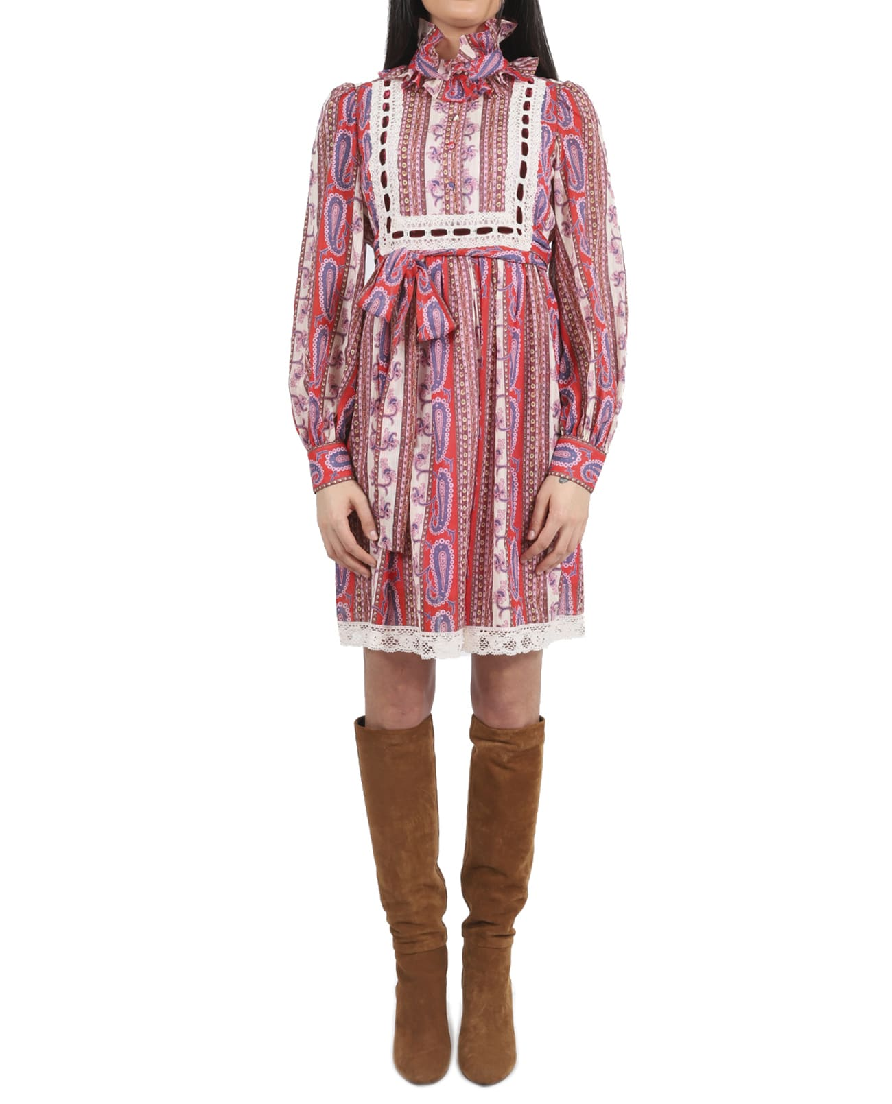 Buy Marc Jacobs Paisley Dress online, shop Marc Jacobs with free shipping