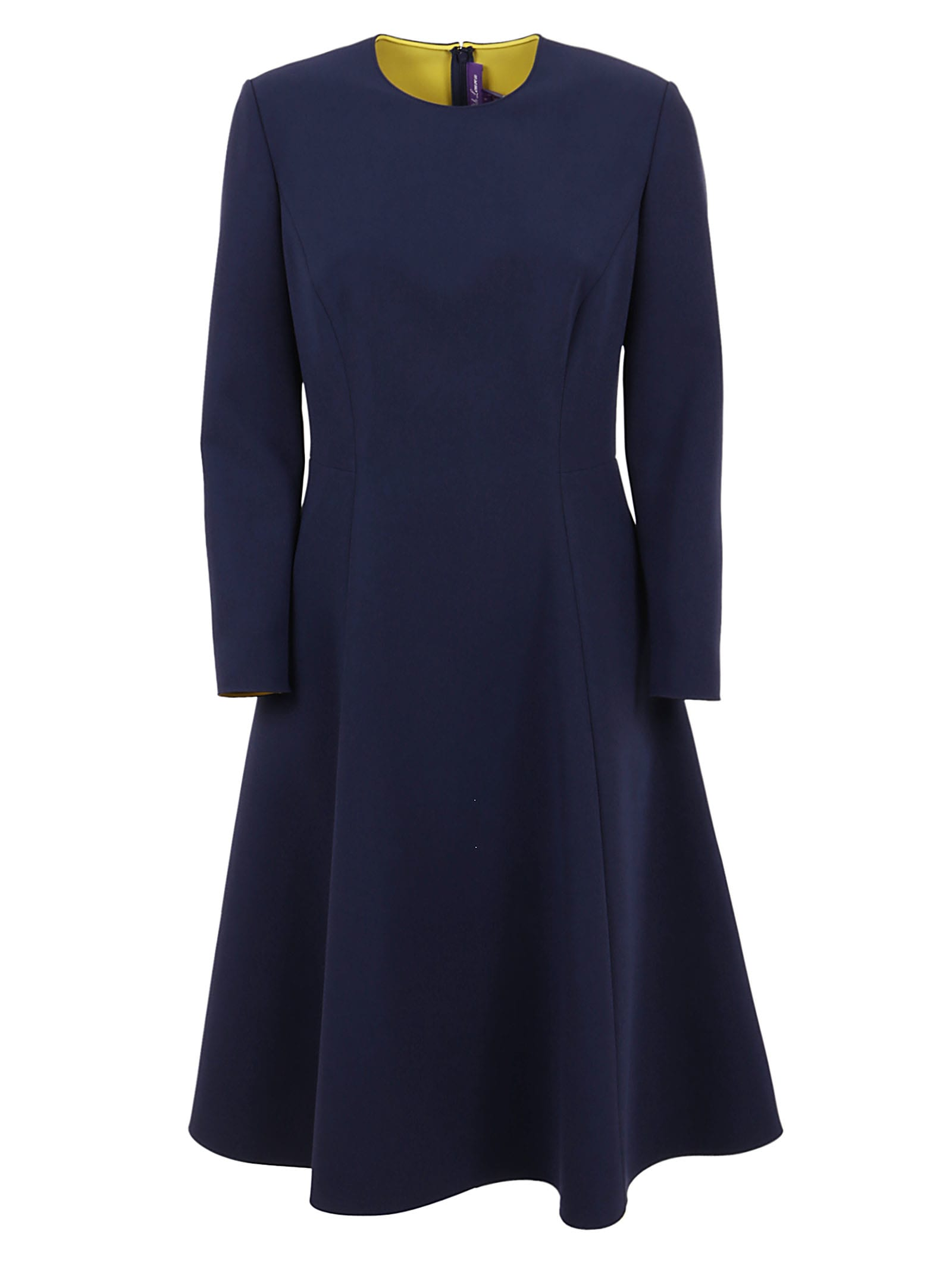 Buy Ralph Lauren Black Label Long Sleeve-day Dress online, shop Ralph Lauren Black Label with free shipping