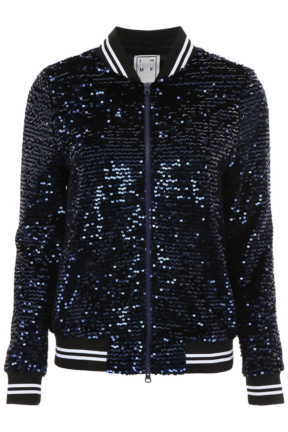 In The Mood For Love Sequins Katey Bomber Jacket