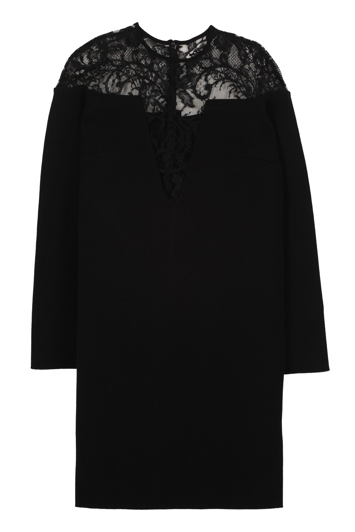Givenchy Lace Detail Knitted Dress