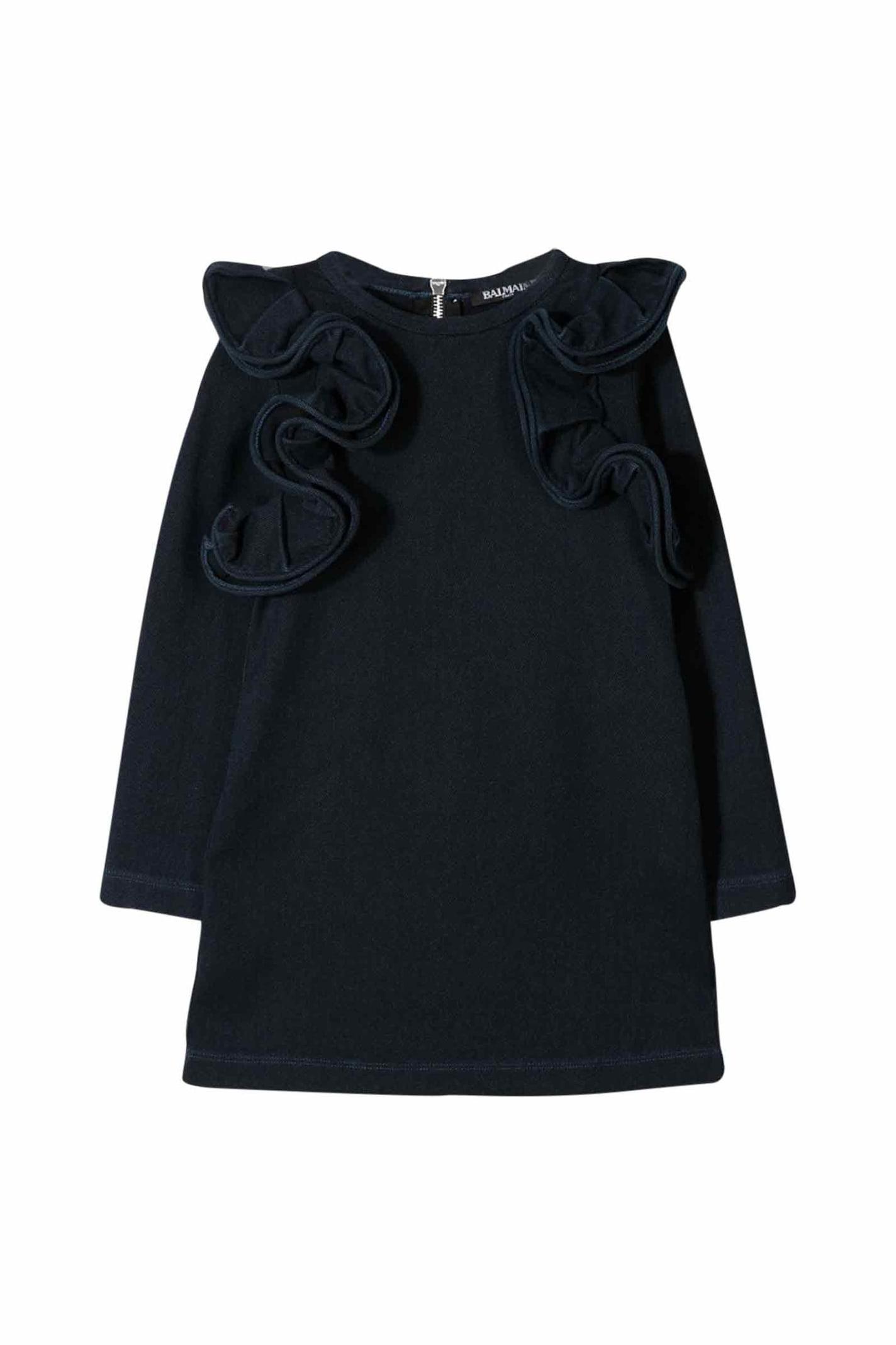 Balmain Dress With Balze