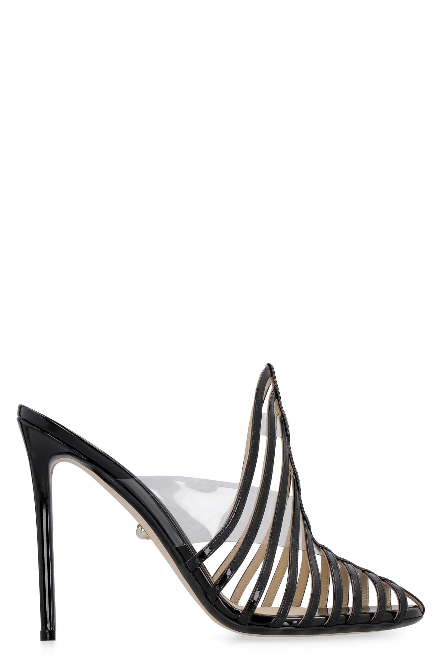 Alessandra Patent Leather Sandals