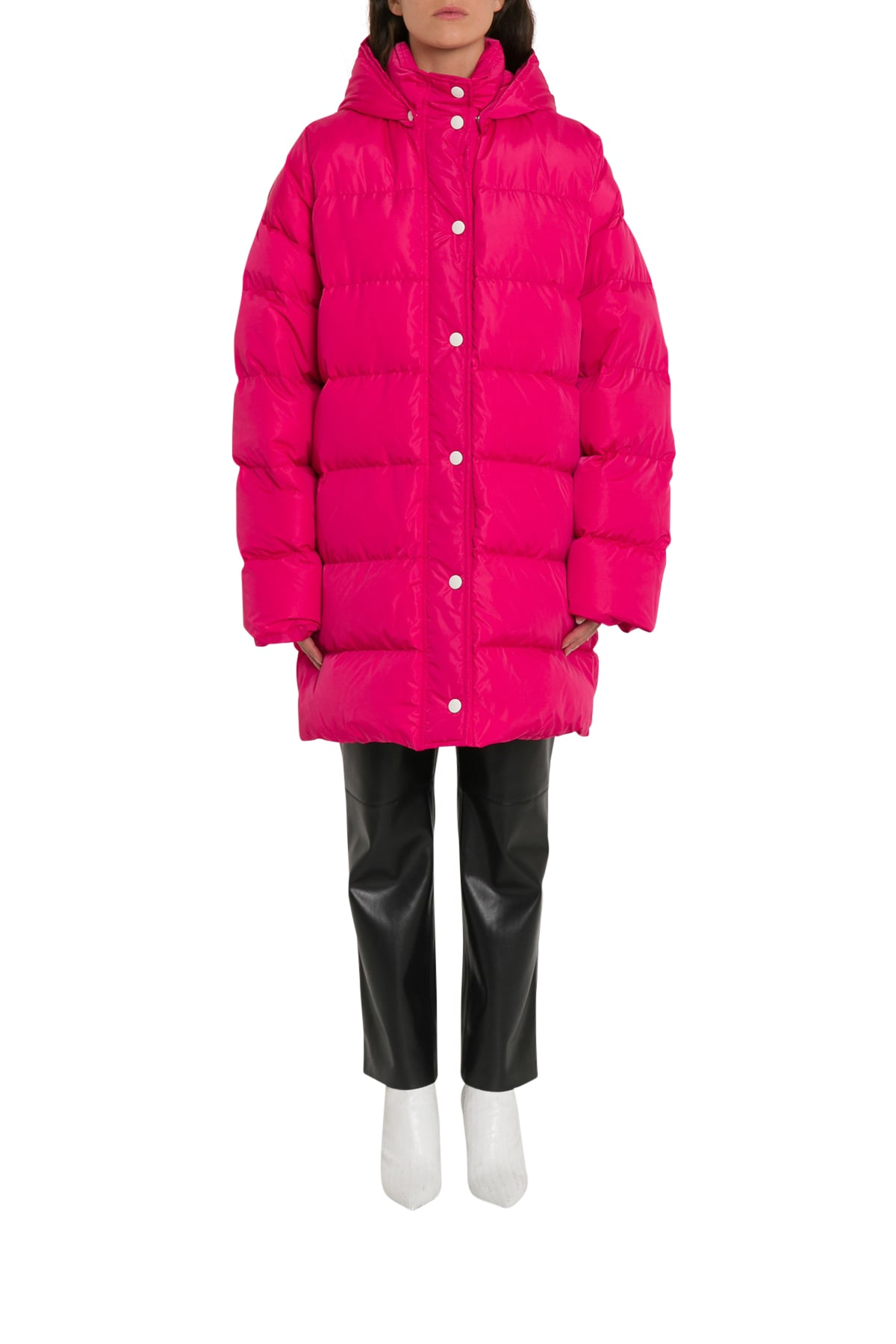 MSGM Lung Puffed Coat With Loaed Hood