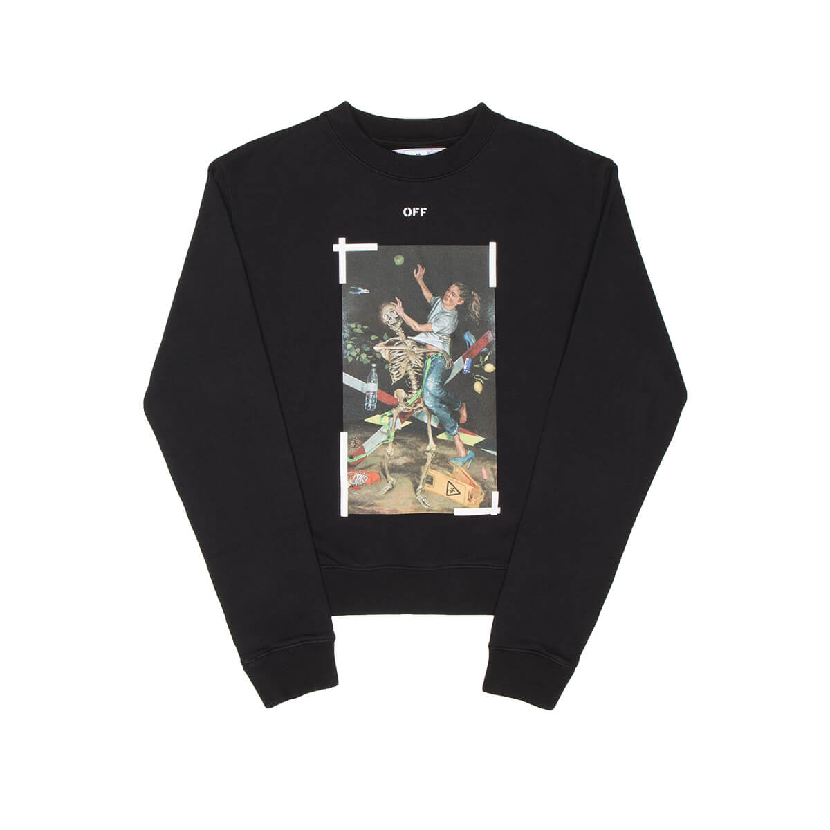 Off-White Cottons PASCAL PRINT SWEATSHIRT