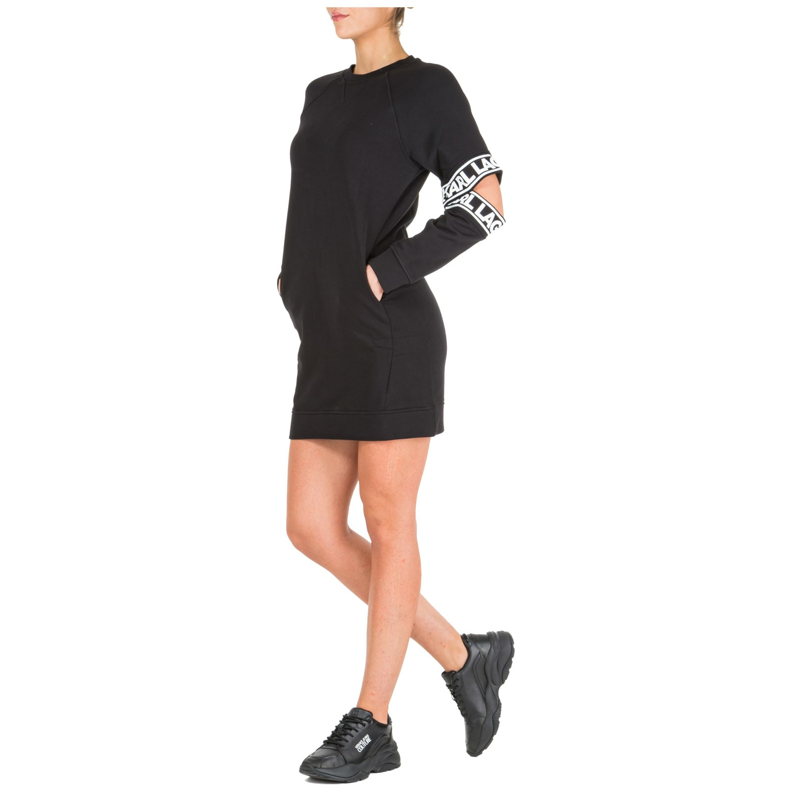 Karl Lagerfeld Knee Length Dress Long Sleeve