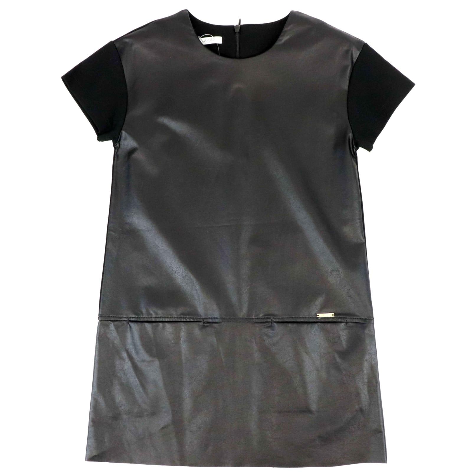Liu •jo Kids' Dress Dress In Black