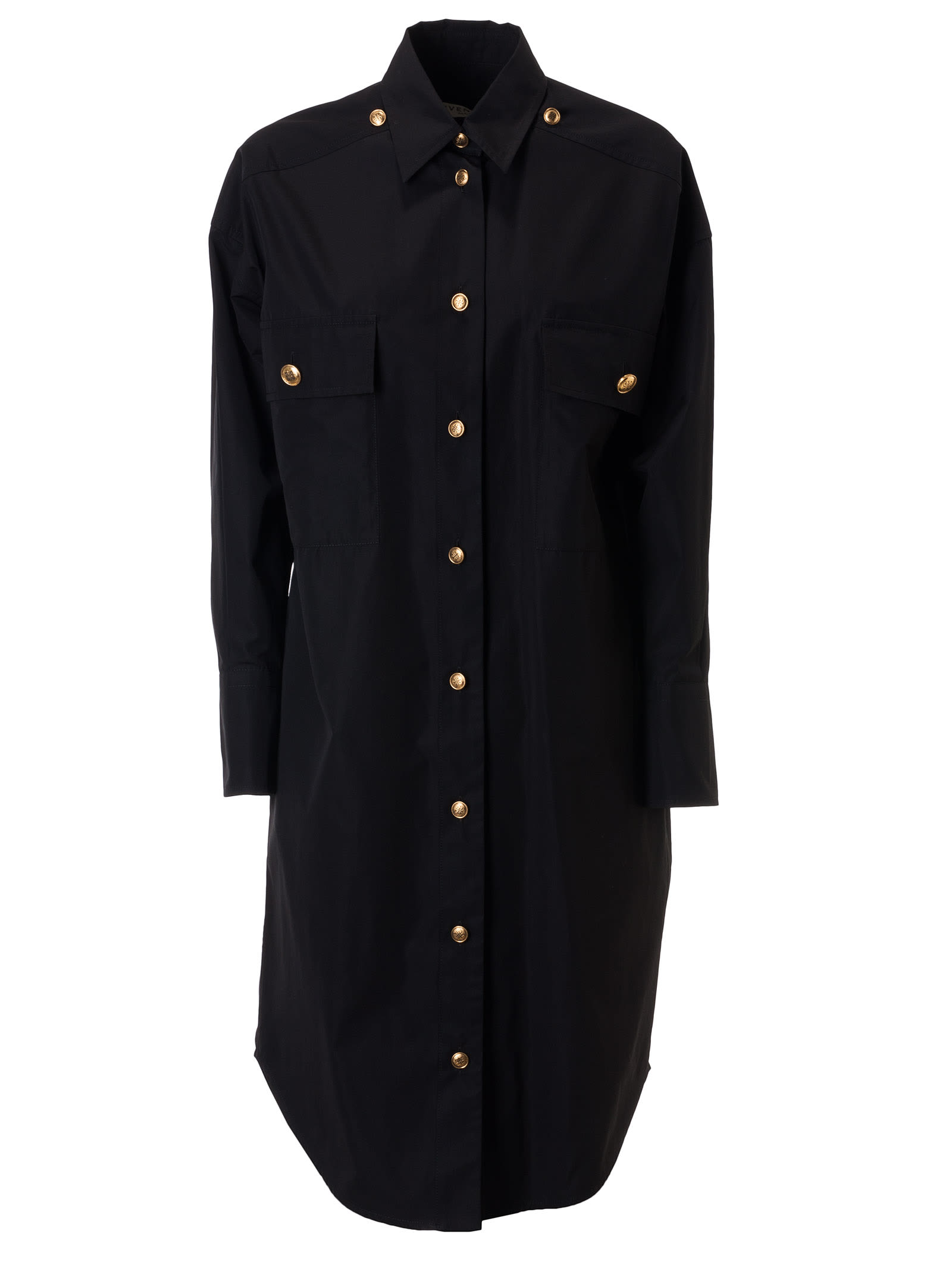 Buy Givenchy Buttoned Midi Dress online, shop Givenchy with free shipping