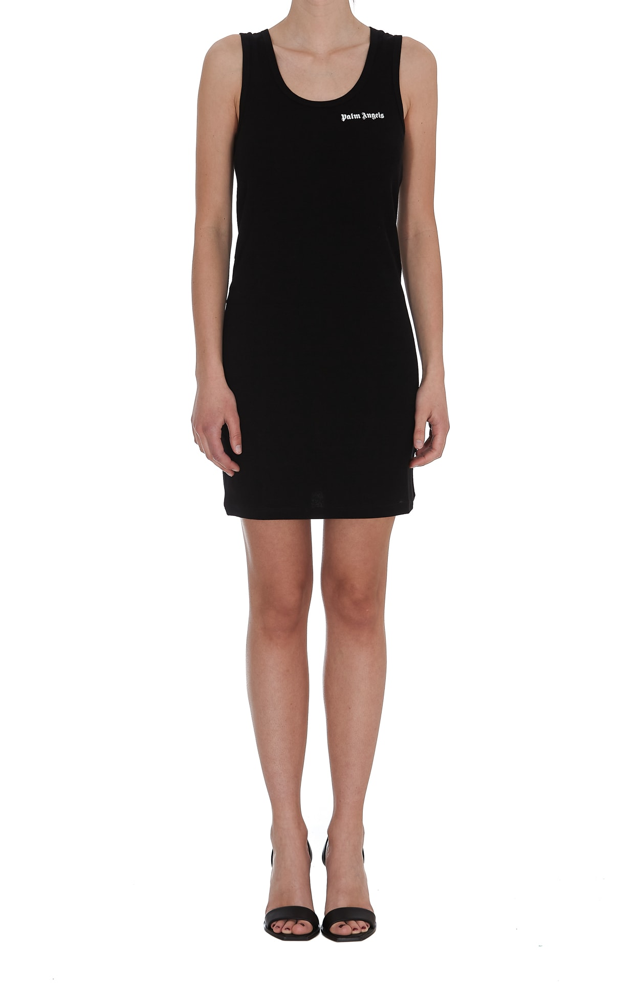Buy Classic Logo Tankdress online, shop Palm Angels with free shipping